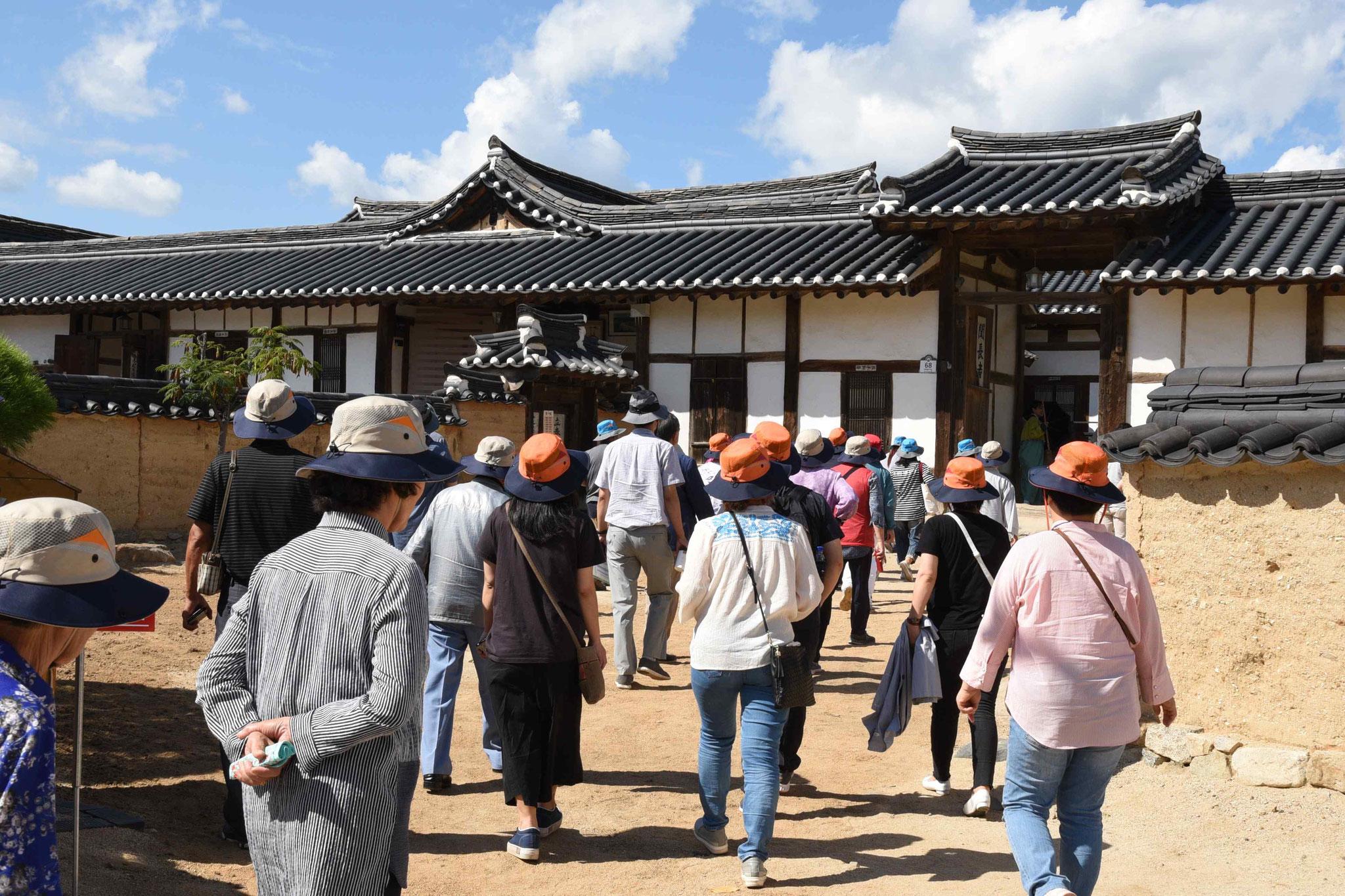Koreanische Reisegruppe