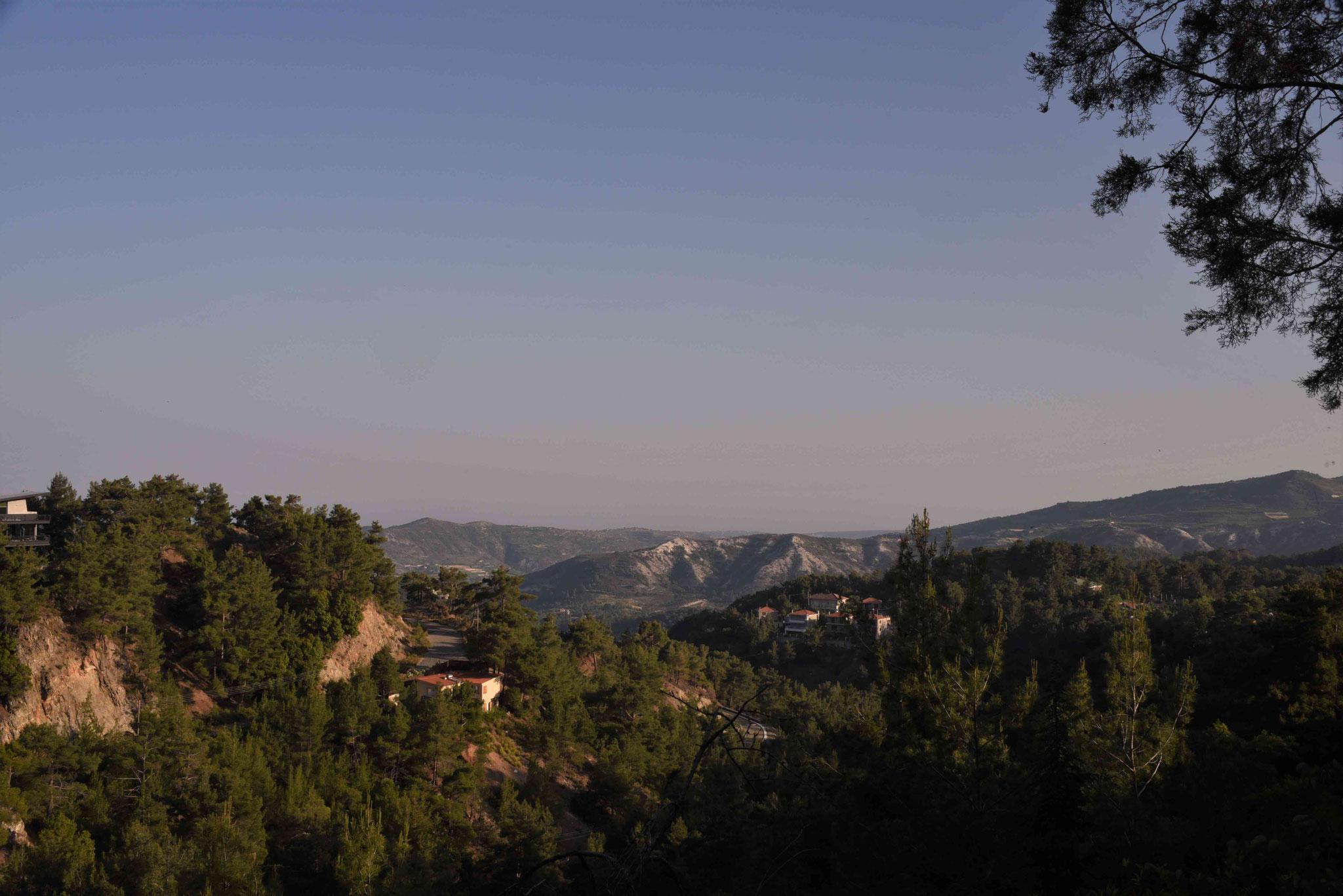 Blick über die Berge Zyperns II