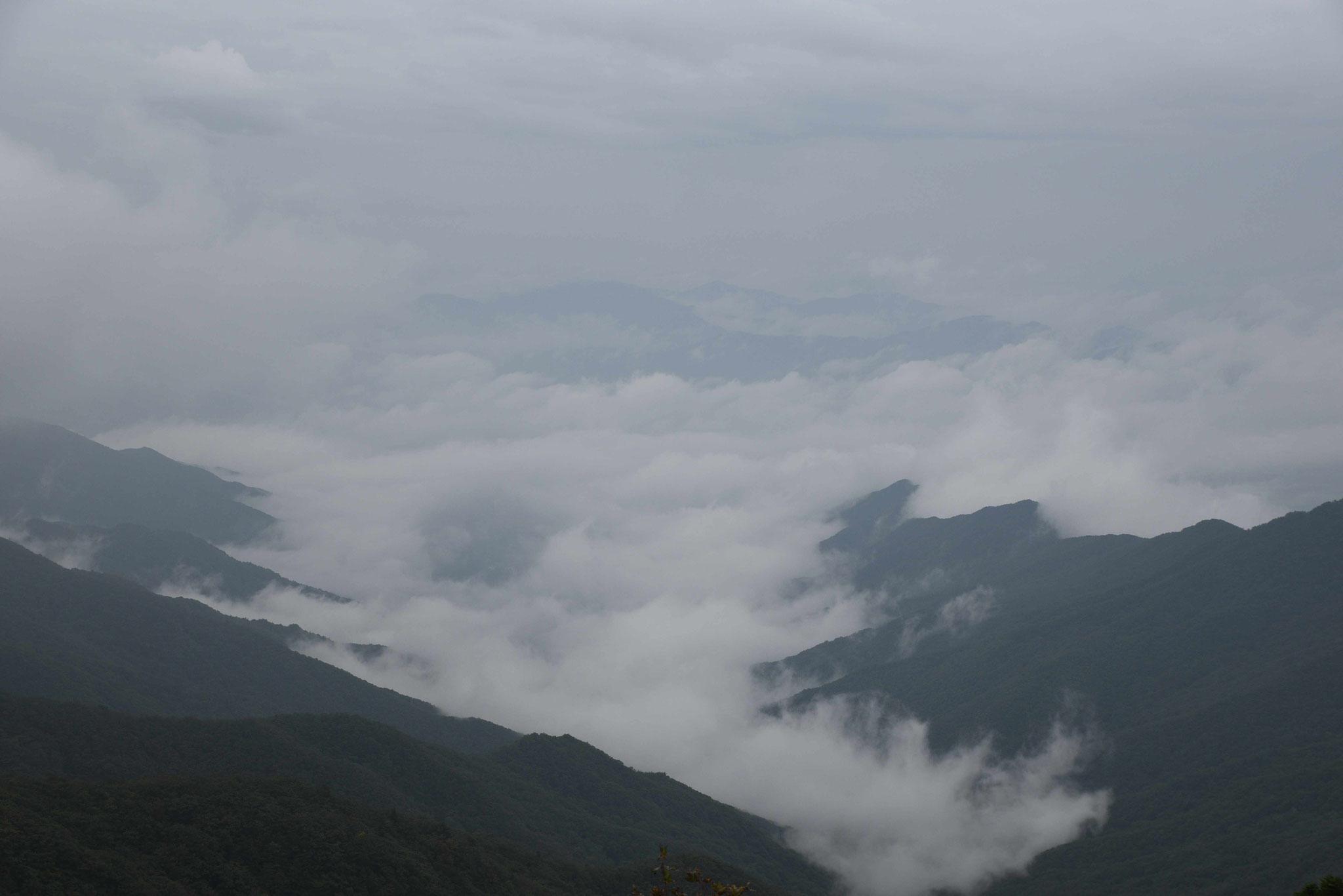 Wolkenschwaden im Jirisan-NP I