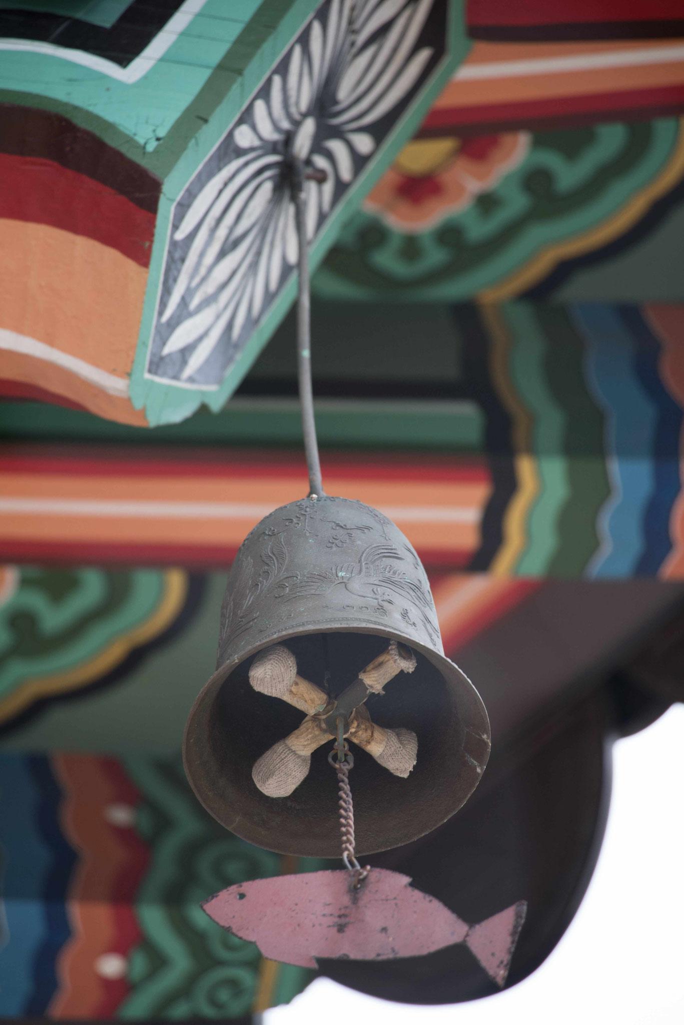 Das Klingeln der Glocken soll beruhigend wirken