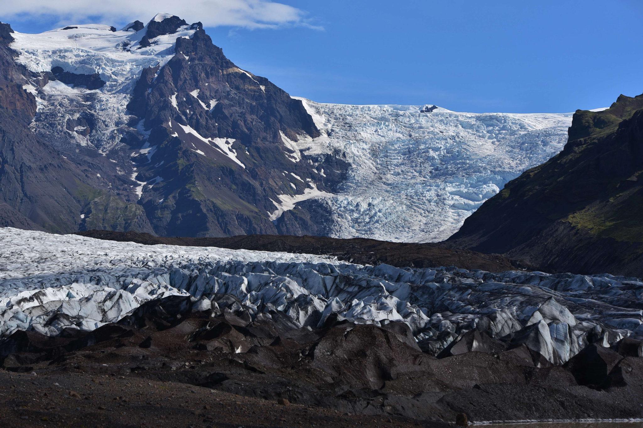 Gletscherzunge Svinjafelljökull