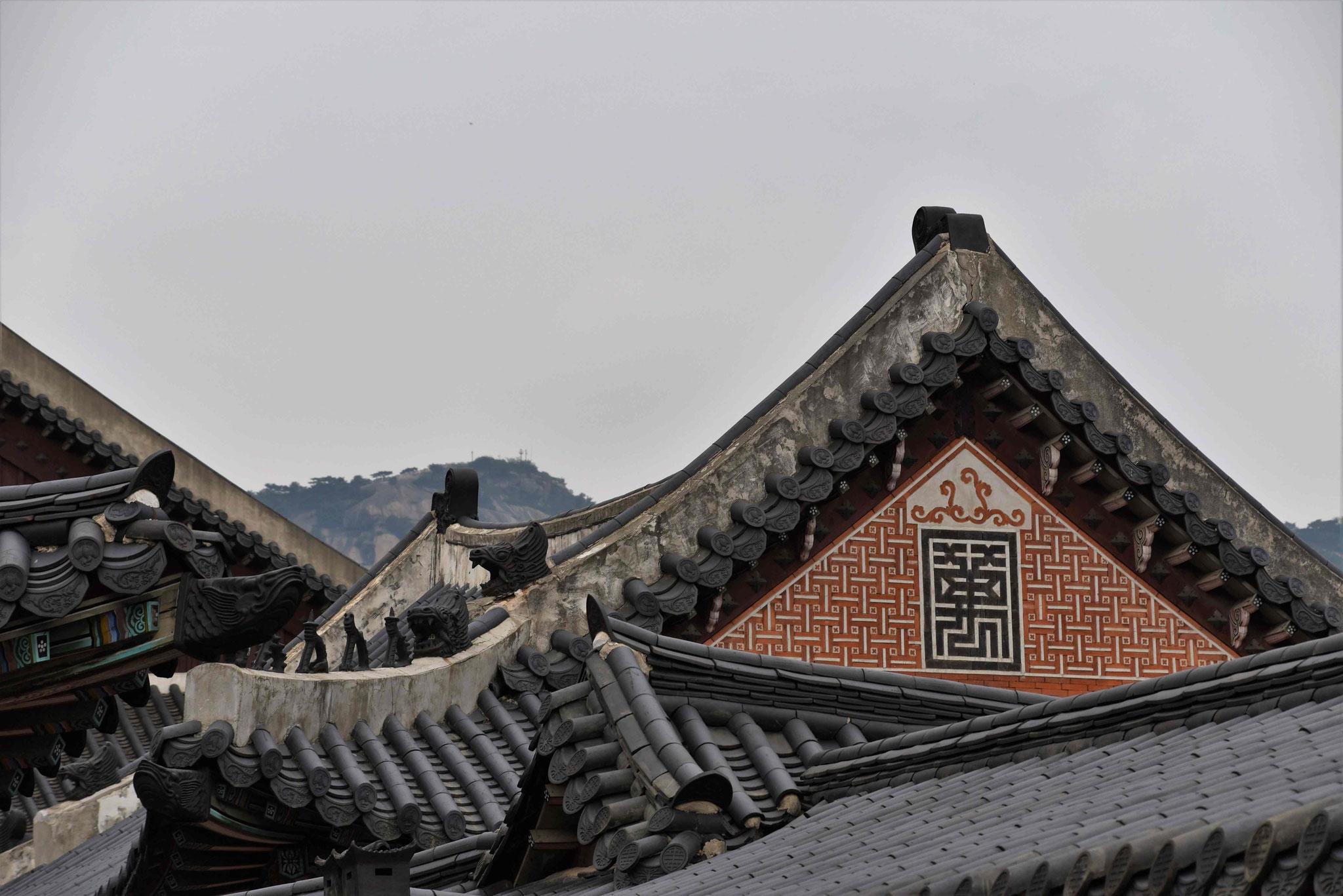 Die geschwungenen Dächer haben ihren besonderen Reiz