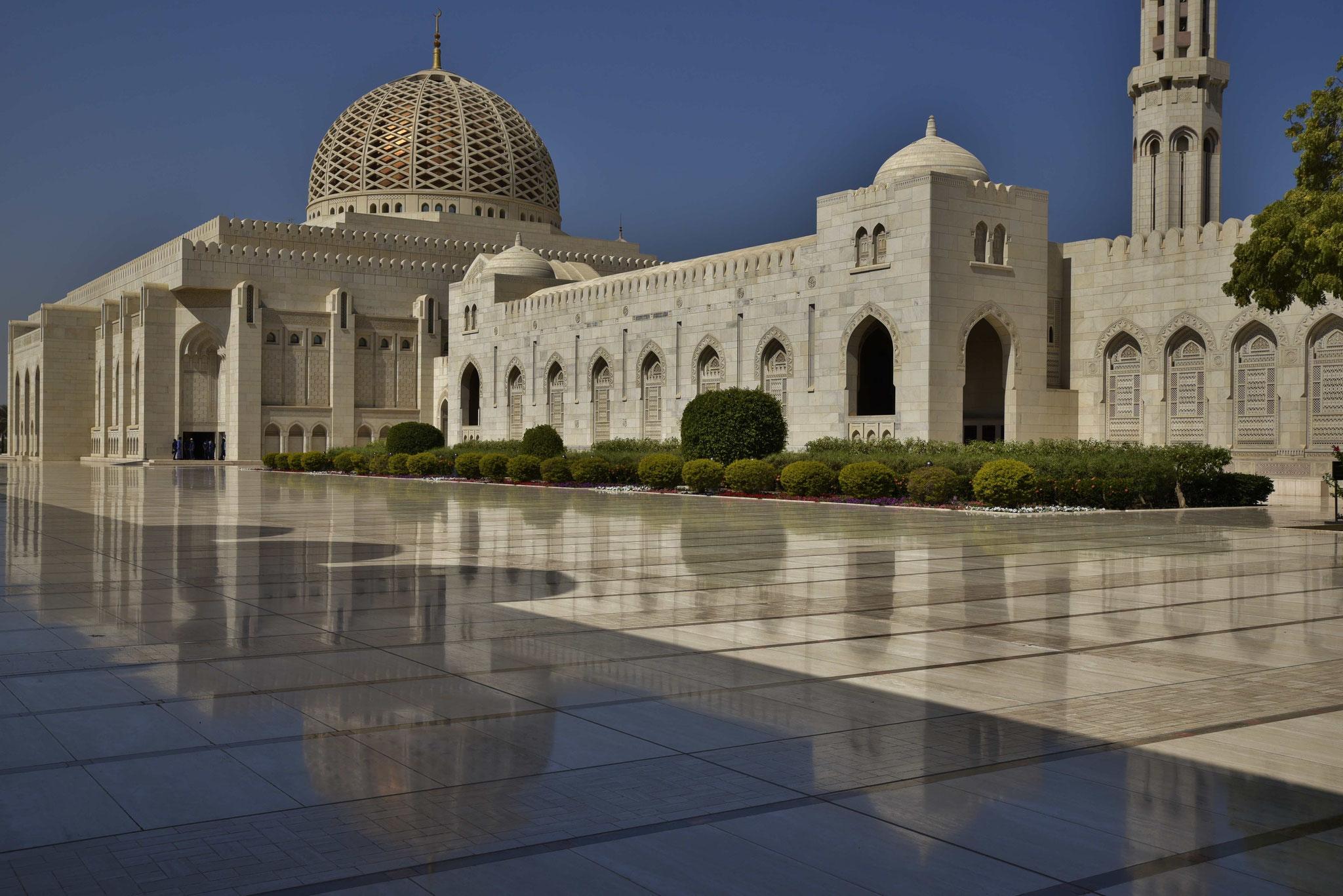 Spiegelung der Moschee II
