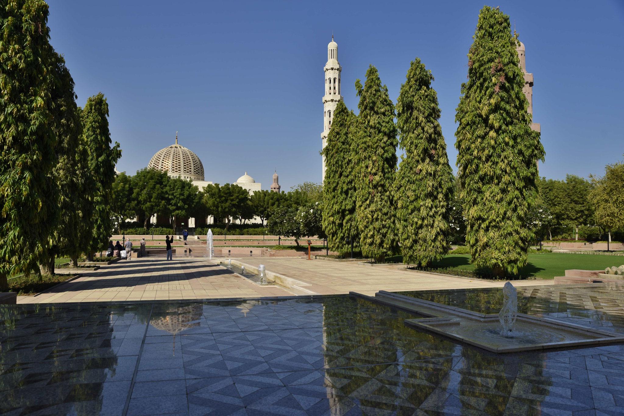 Eingangsbereich für Nicht-Muslime