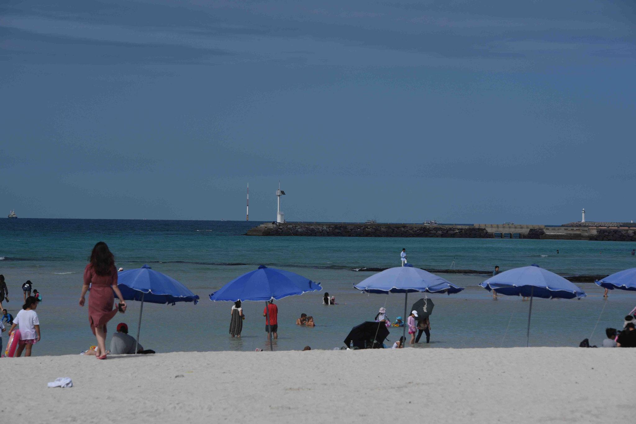 Am Strand von Hyeopjae