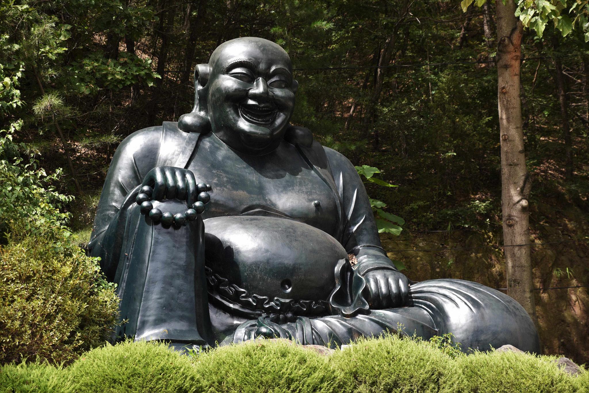 Budda - immer ein Lächeln vorhanden