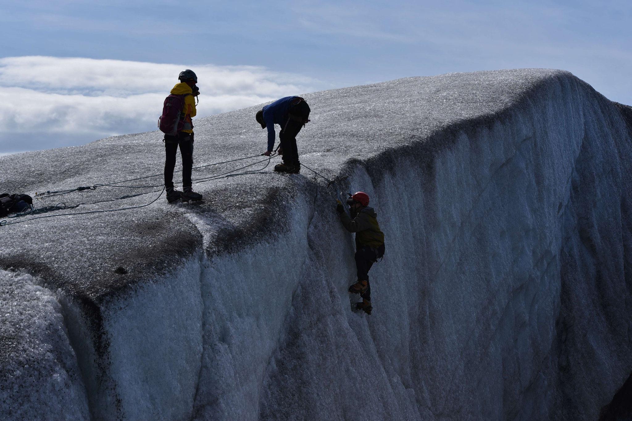 Gletscherwaderung Svinjafelljökull III