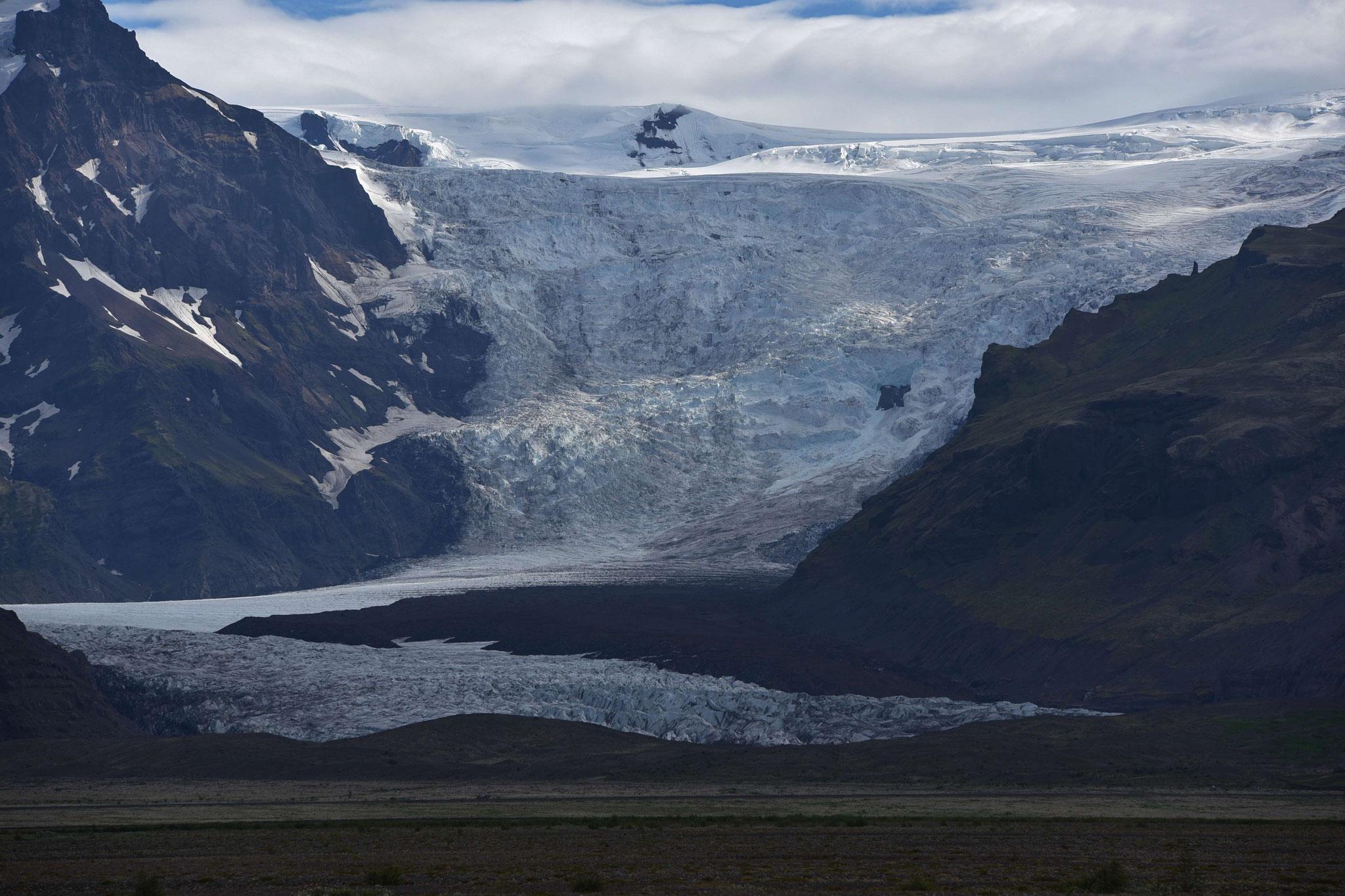Gletscherzunge Hafrafellgebiet