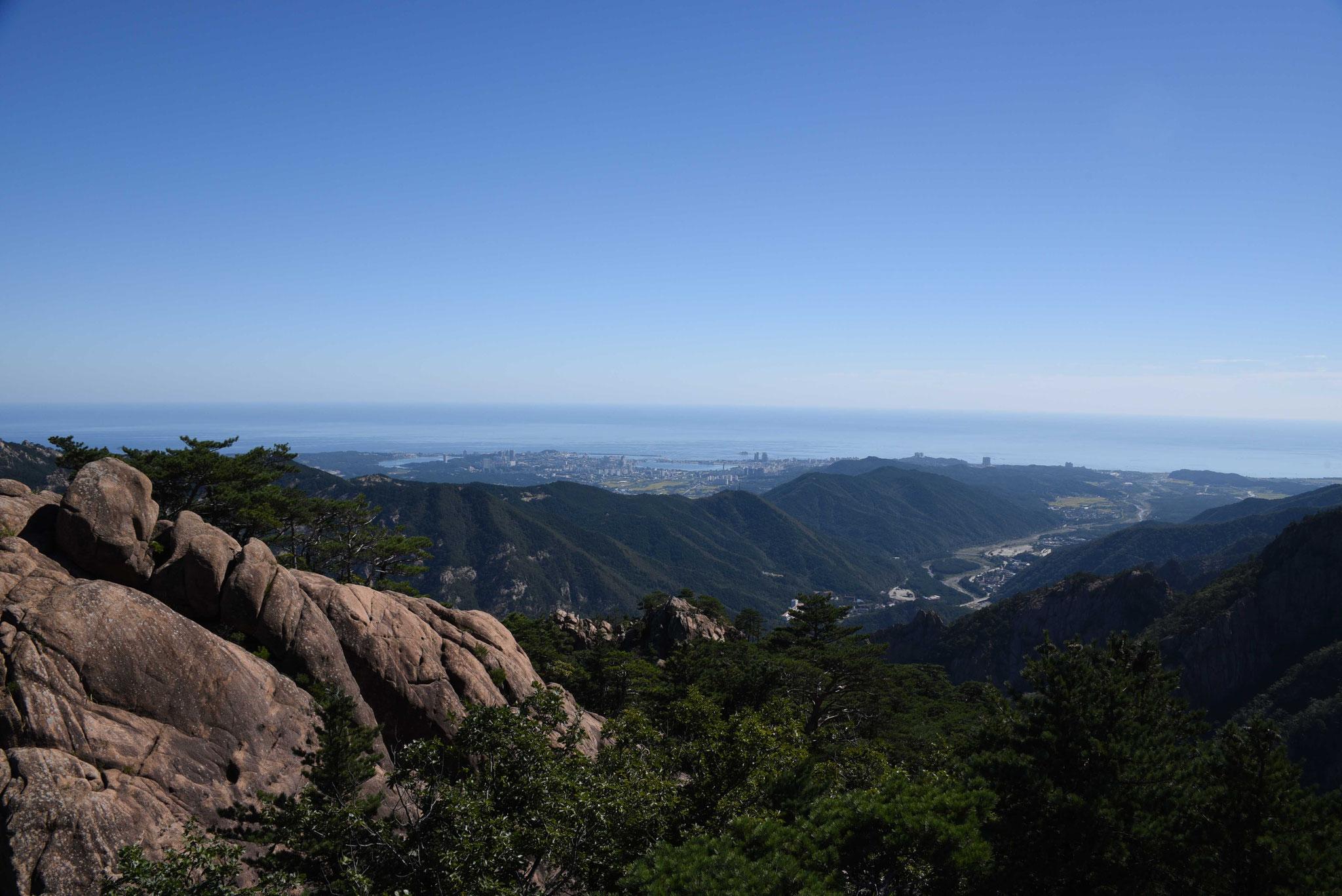 Blick über den Outer Seoraksan-NP