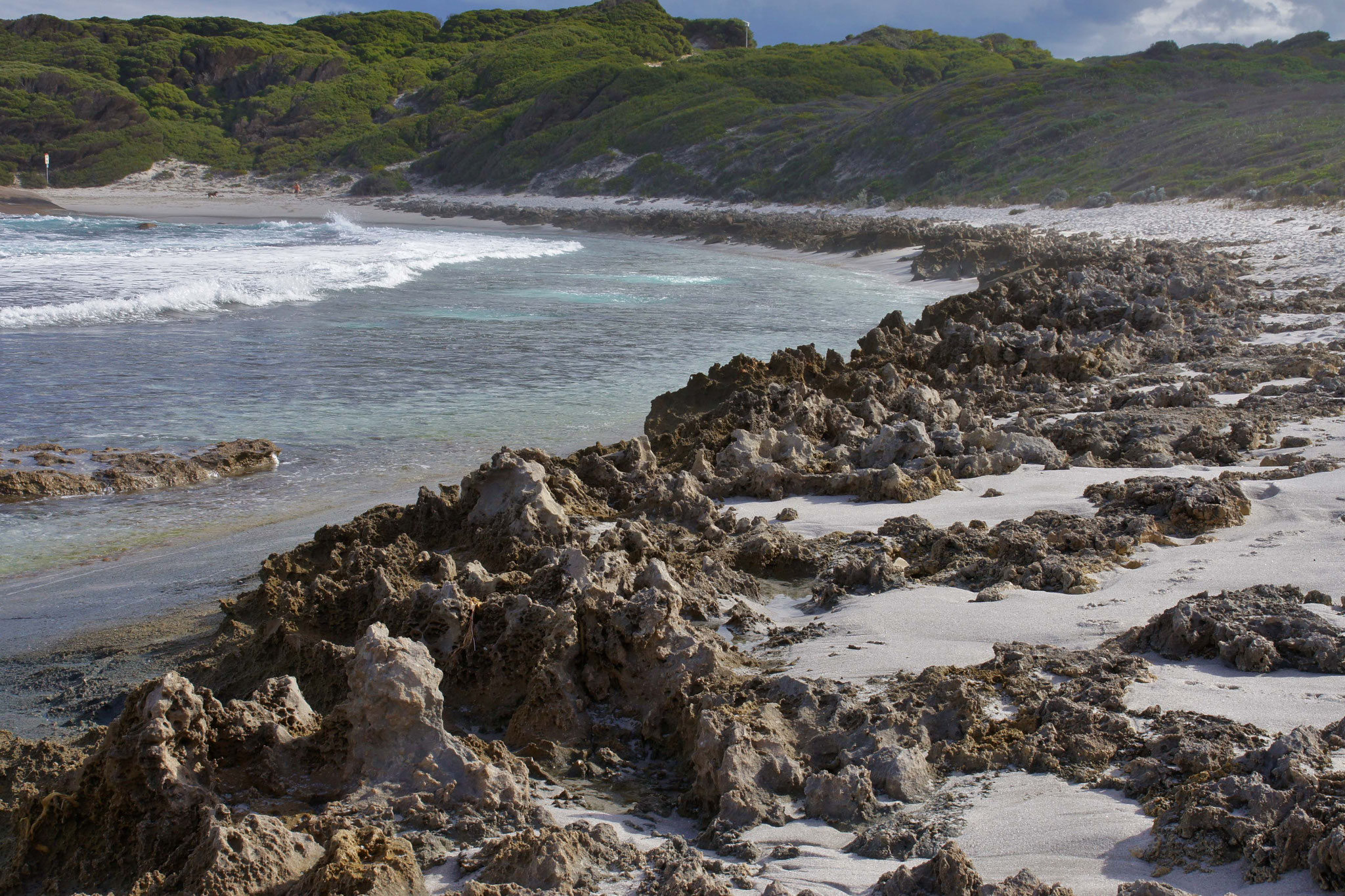 Einsame Küste in Westaustralien
