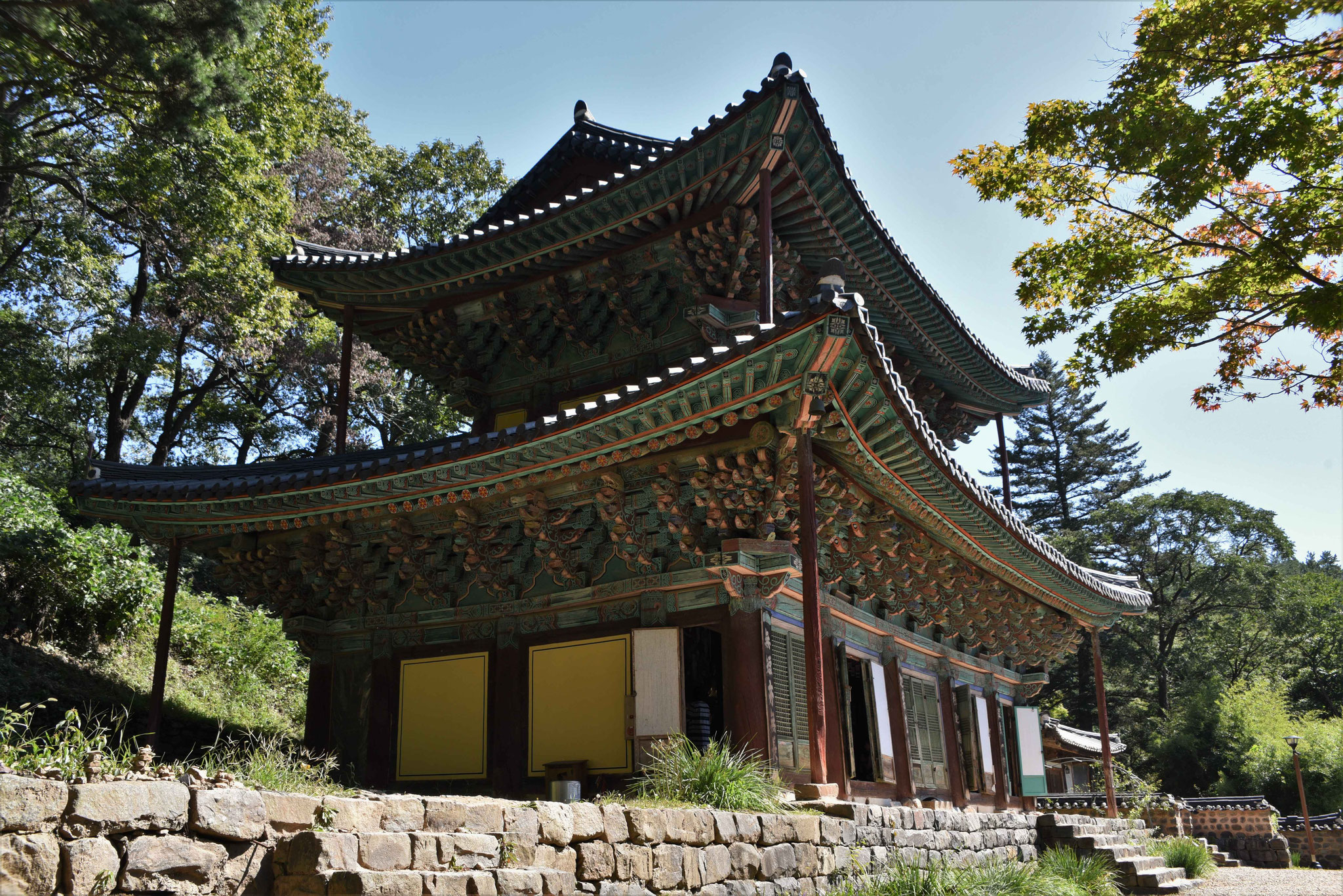 Tempel in Magoksa