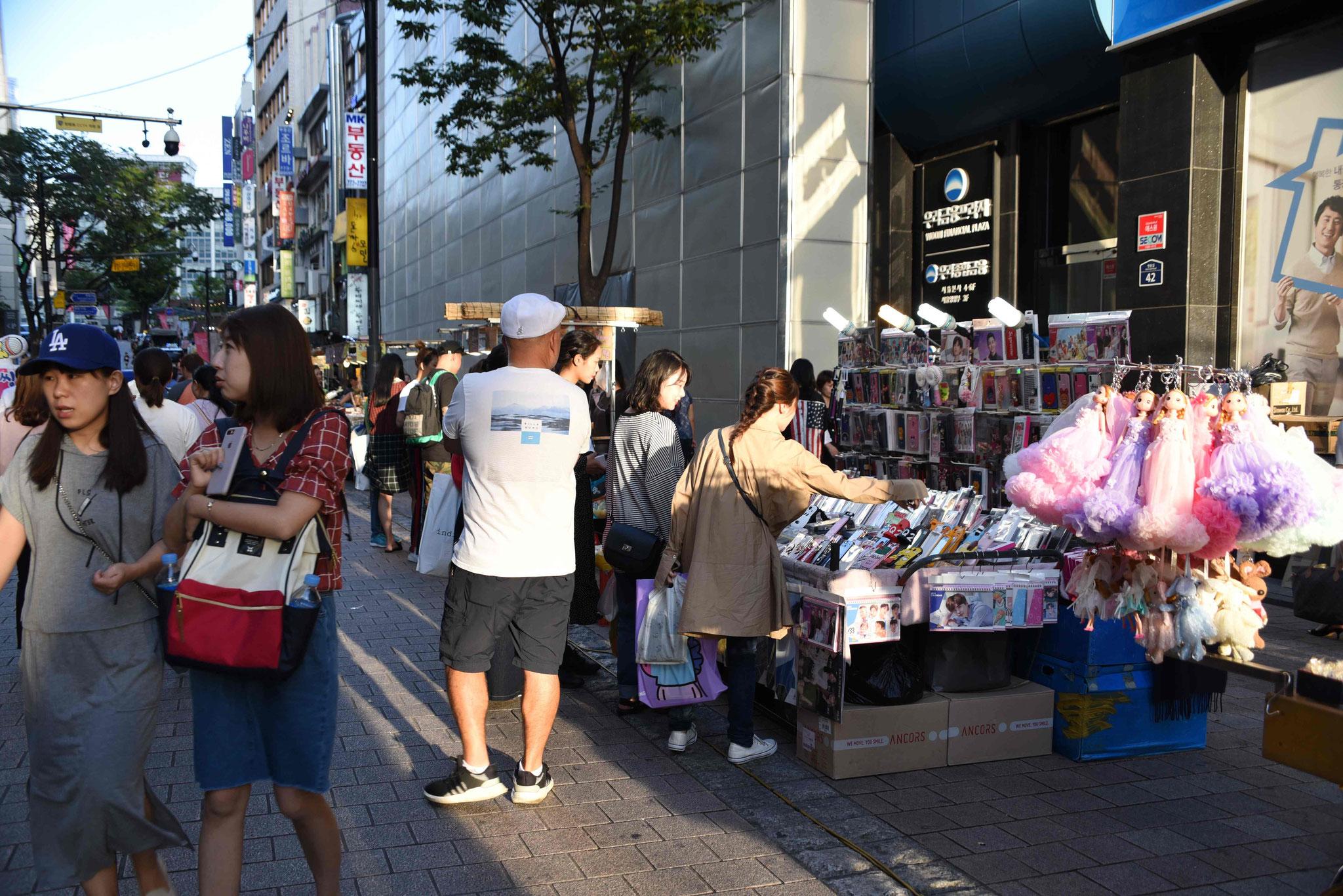 Straßenverkaufsstand