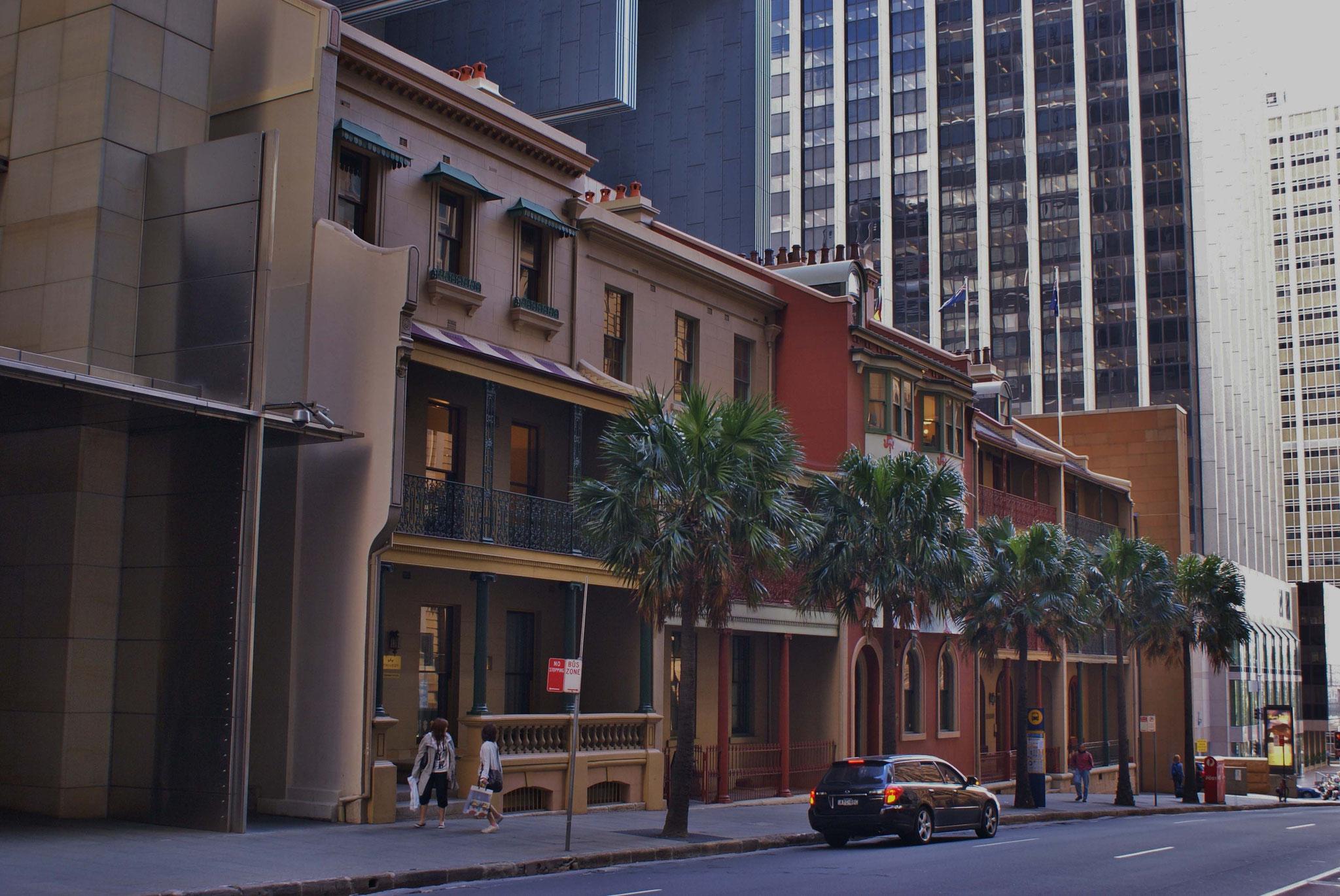 Renovierte, alte Gebäude im Herzen Sydneys