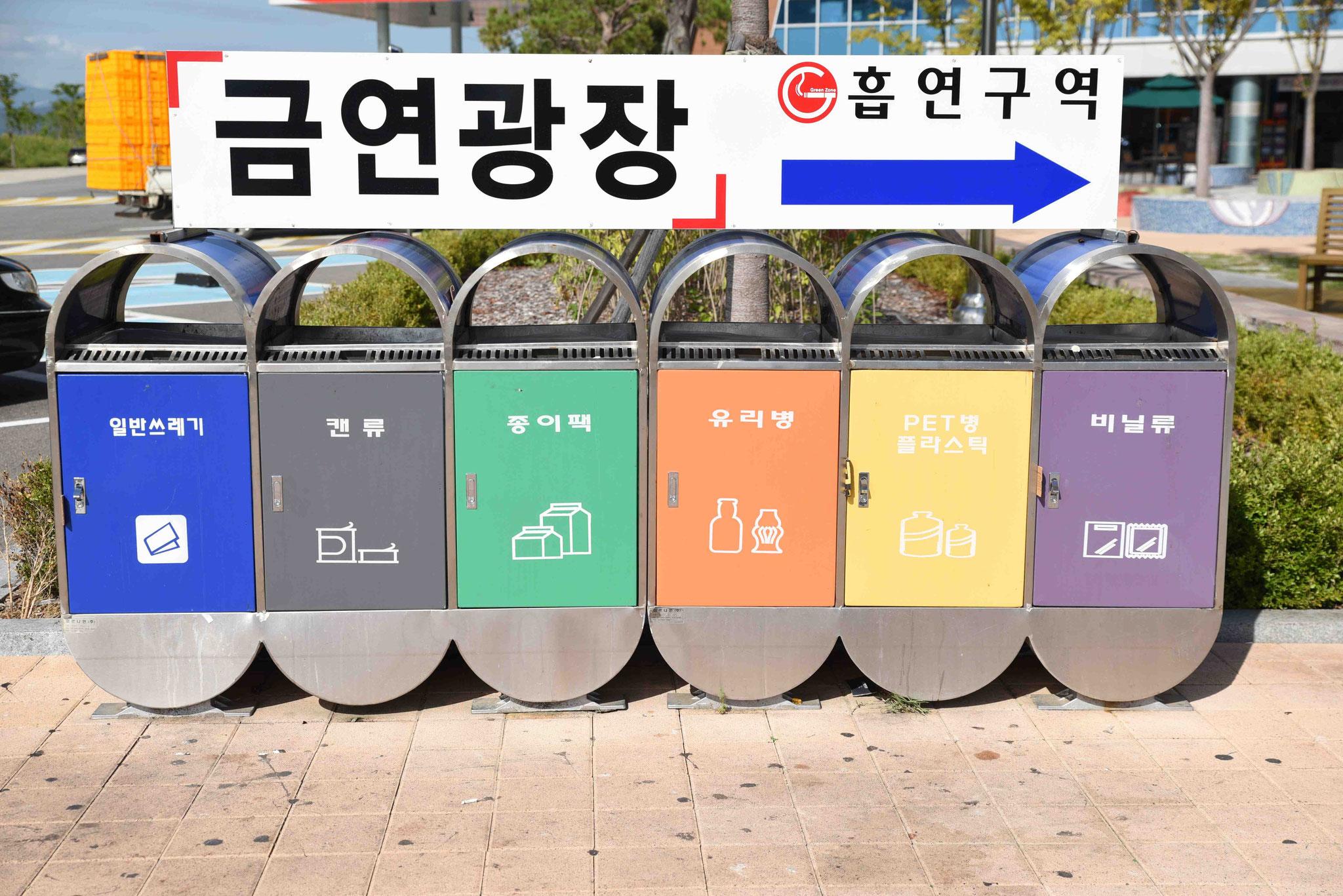 Mülltrennung auf koreanische Art