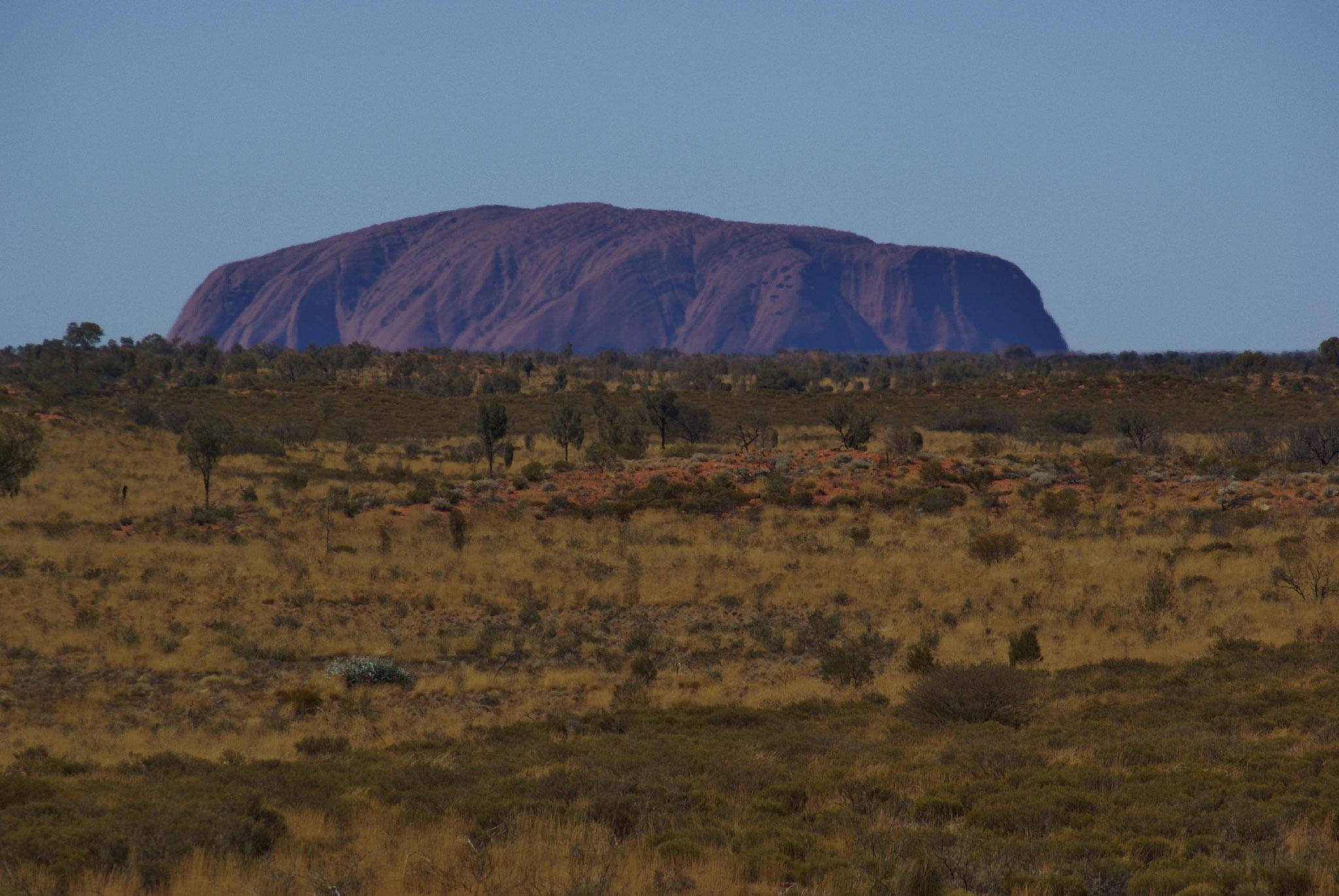 Uluru  ist den meisten eher als Ayers Rock bekannt