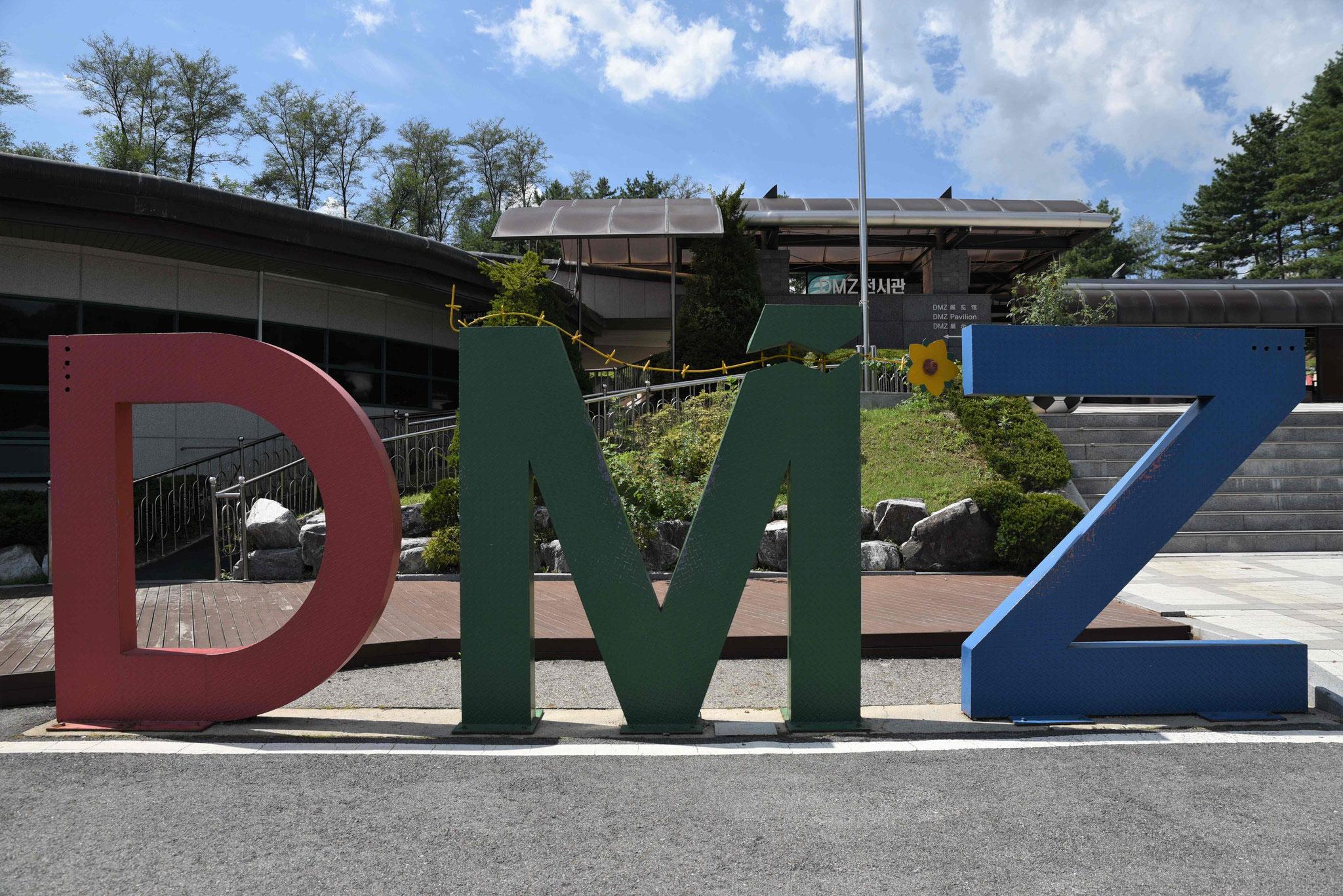 DMZ - Demilitarisierte Zone beim 3. Infiltrationstunnel