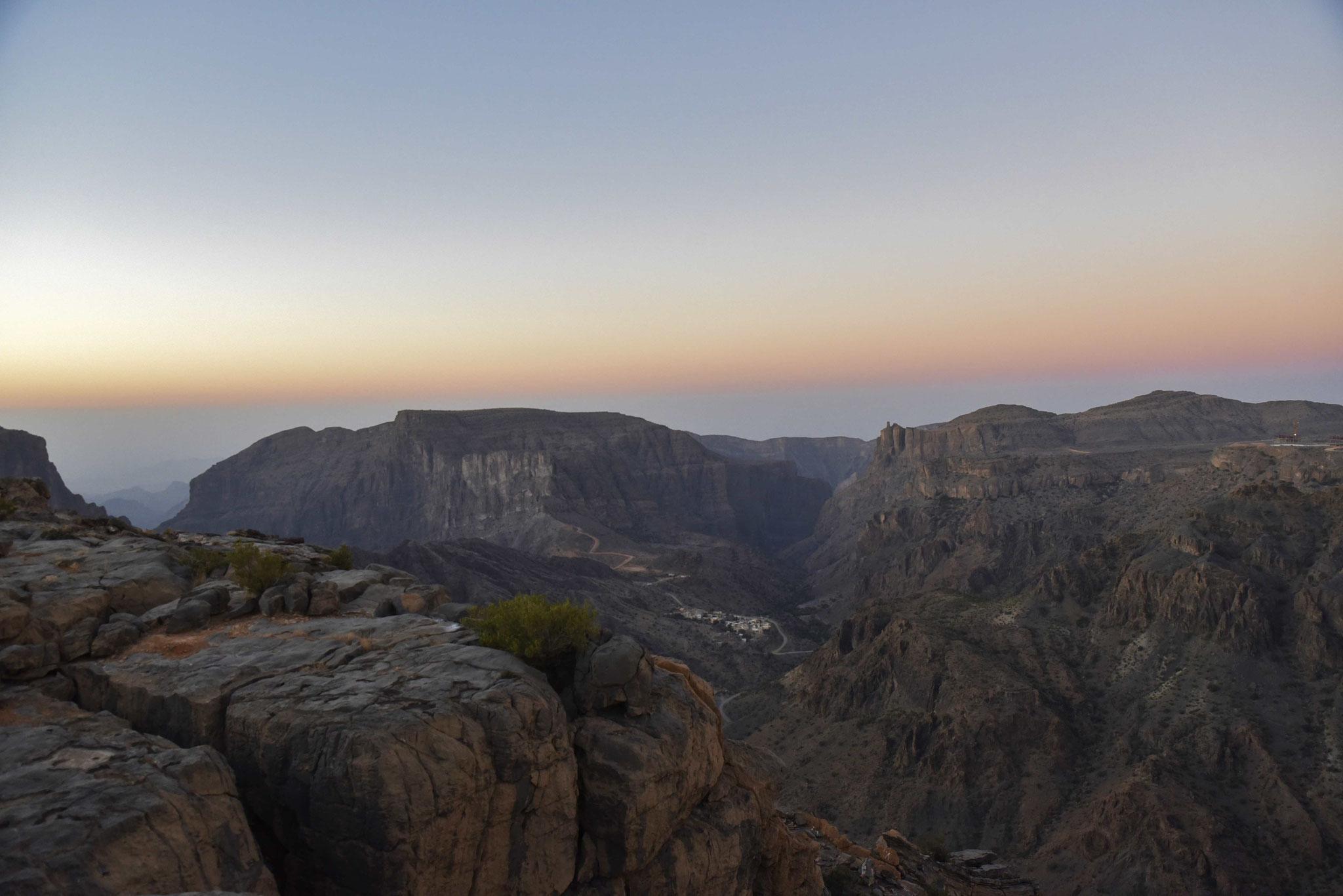 Sonnenaufgang am Jebel Akhdar I