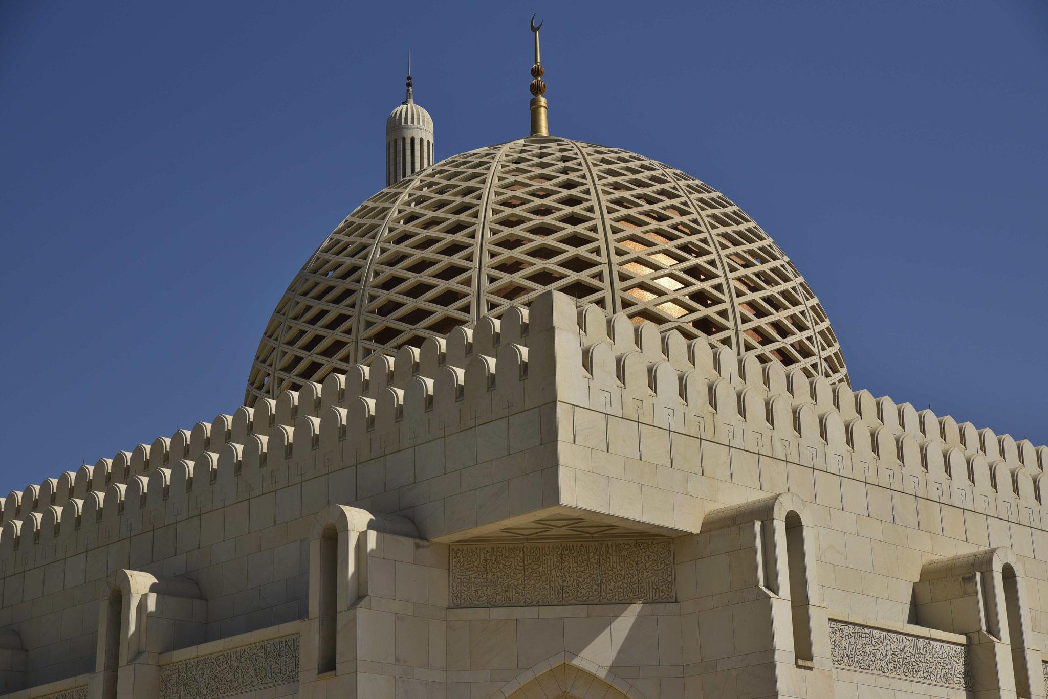 Goldene Kuppel der Moschee