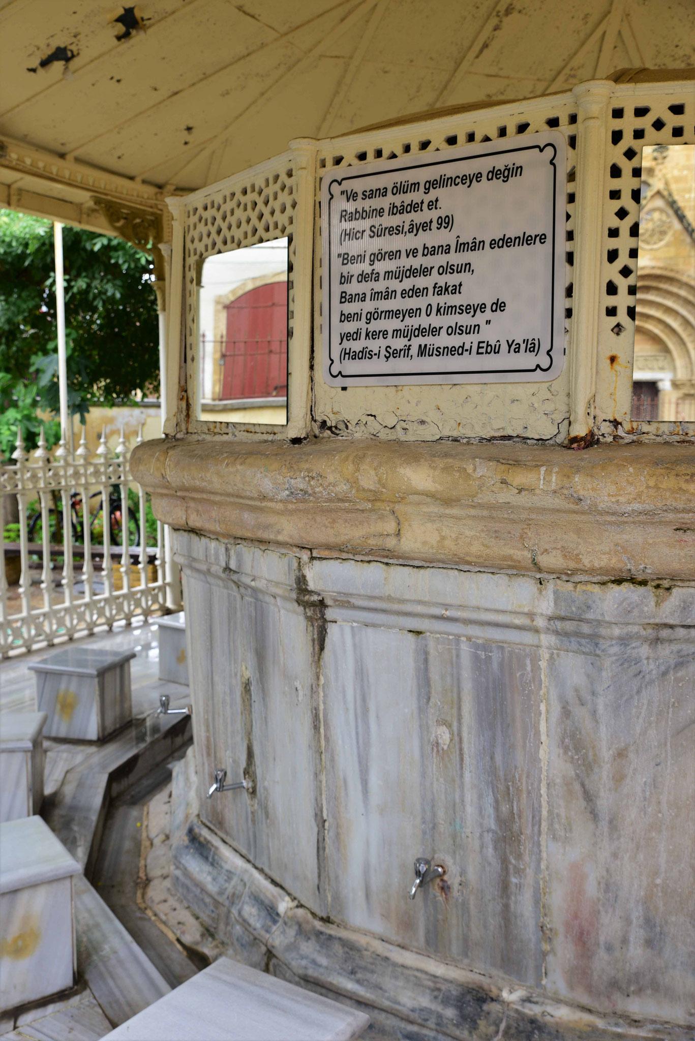 Waschbereich für den Moscheegang II