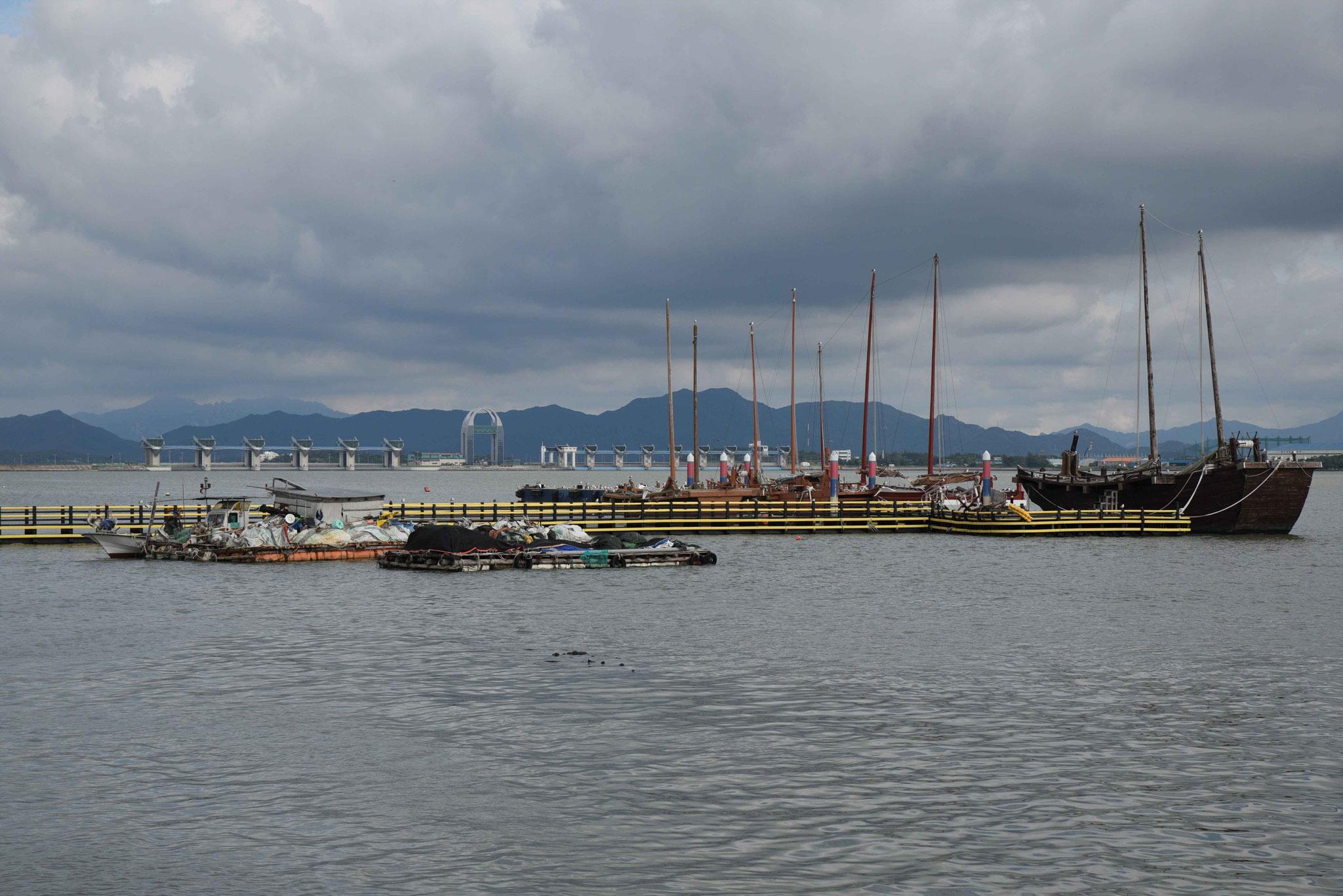 Im Hafenbereich