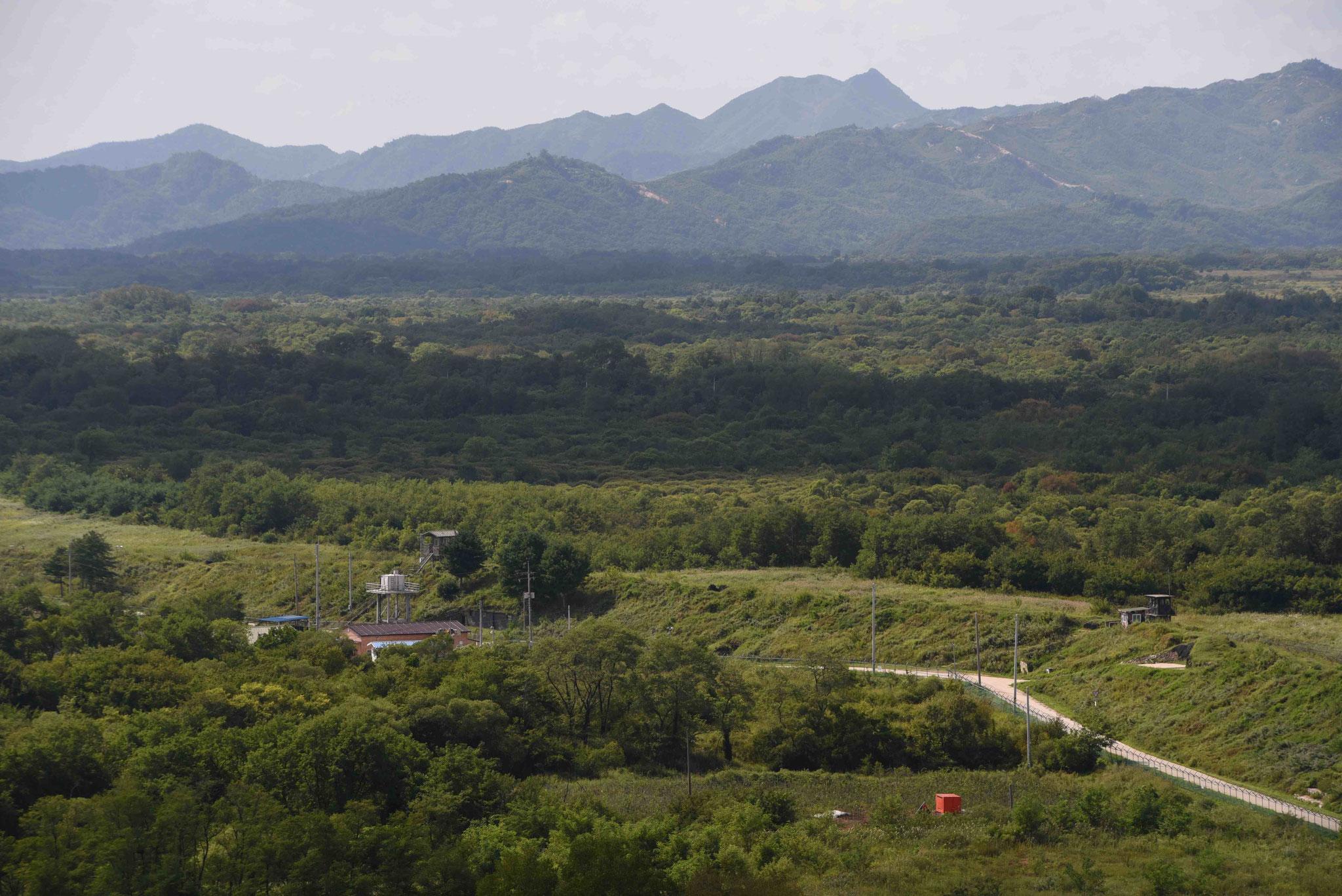 An der Grenze zu Nordkorea