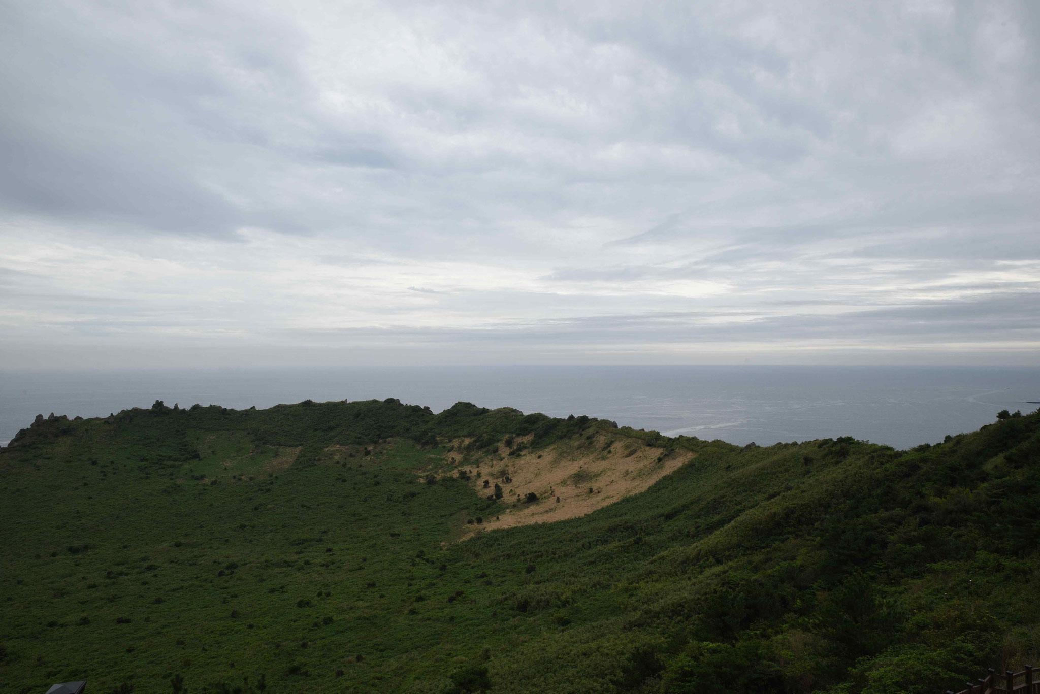 Blick über den Krater