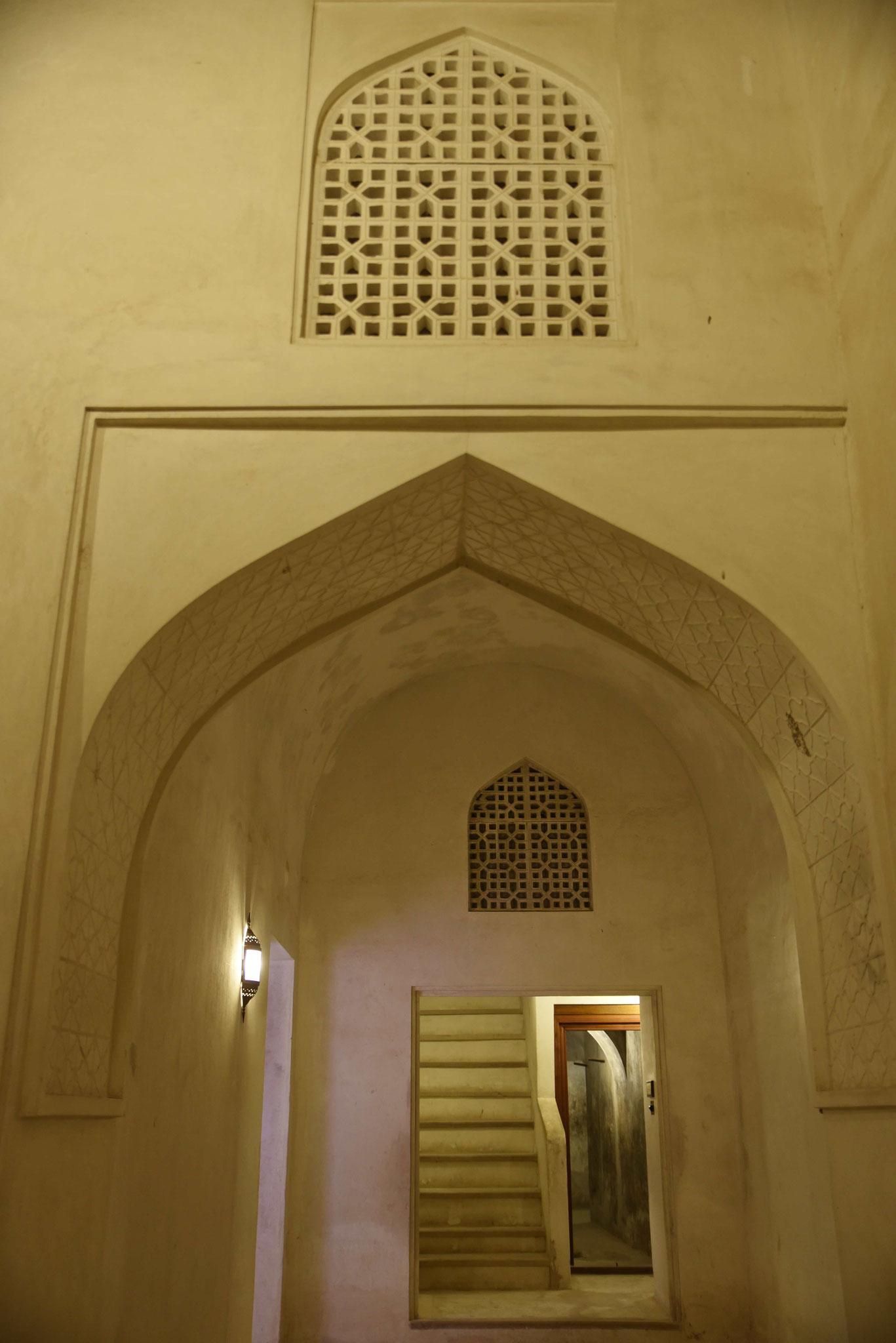 Typisch arabischer Torbogen