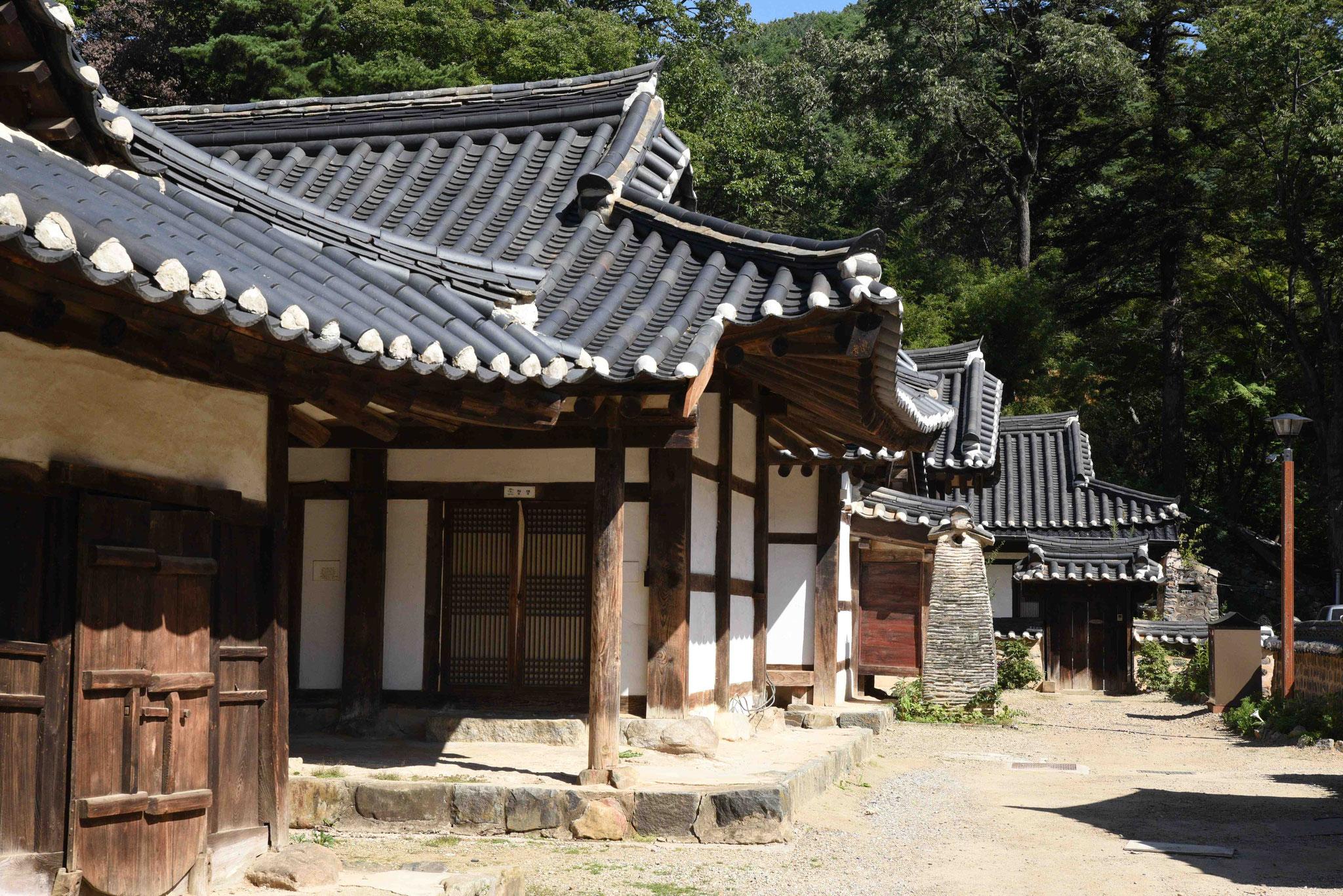 Wohnbereich in der Tempelanlage
