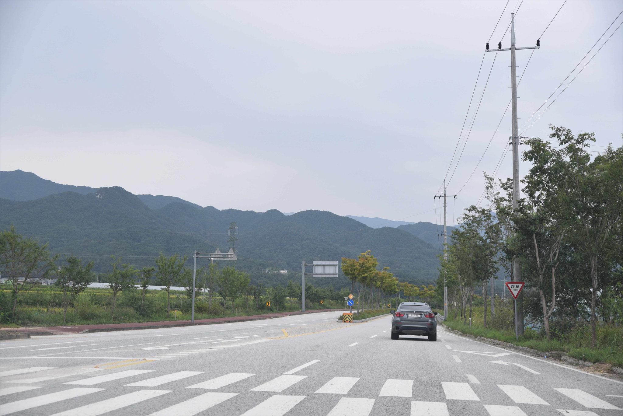 Fahrt in den Jirisan-NP