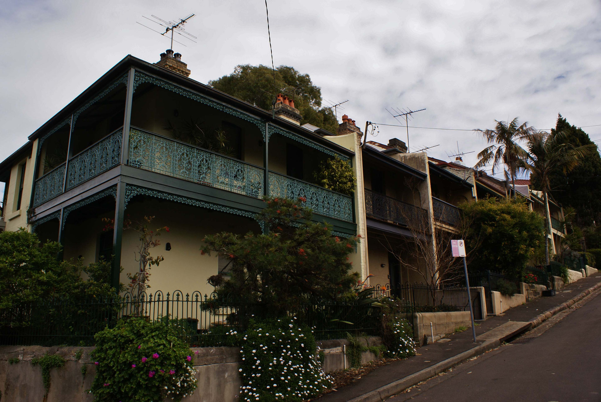 Luxuswohnviertel in Sydney
