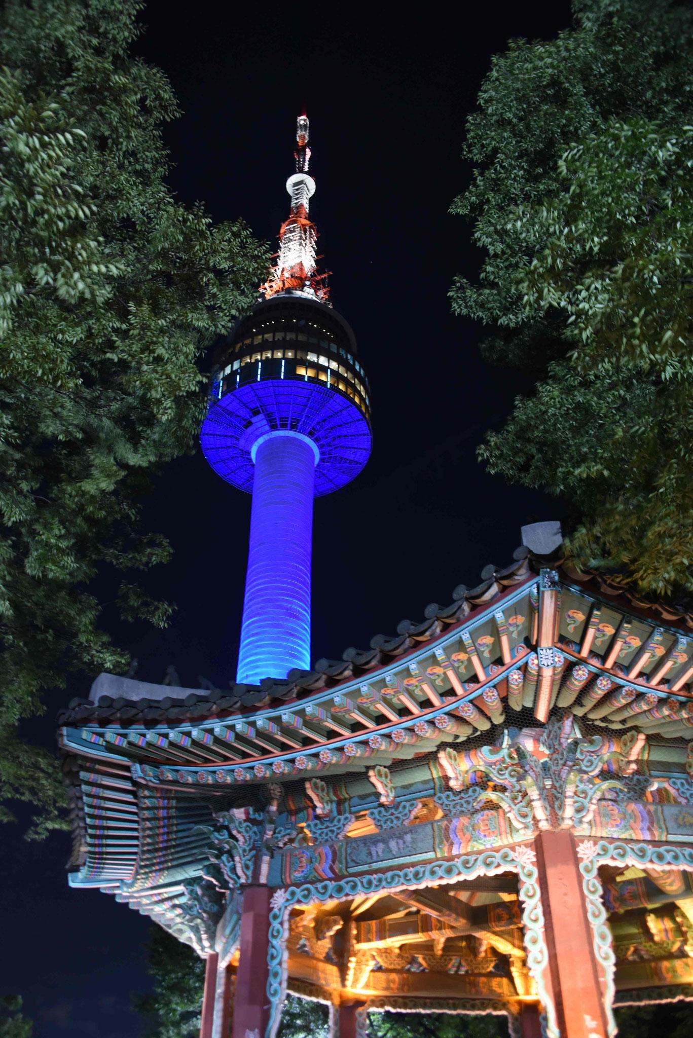 Der N-Seoul-Tower (Fernsehturm)