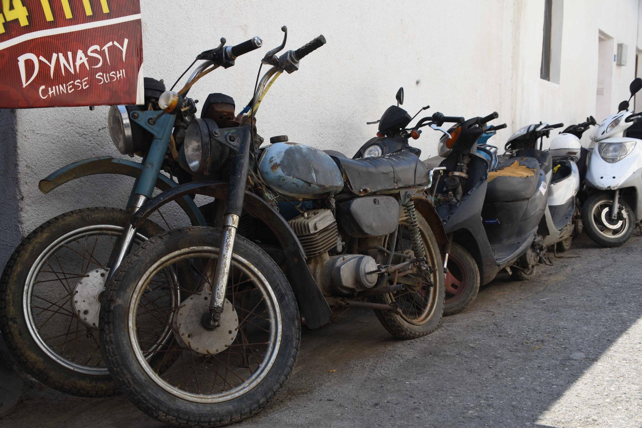 Chinesische Motorräder