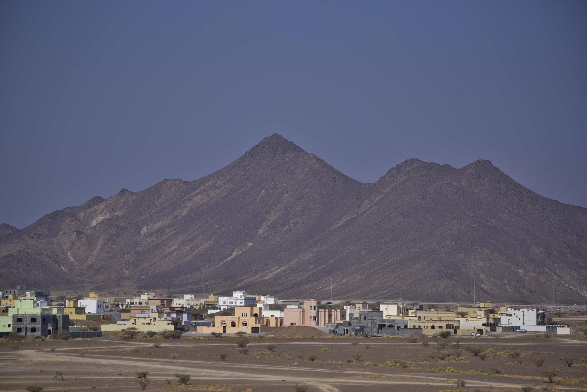 Blick auf das nahe gelegene Gebirge I