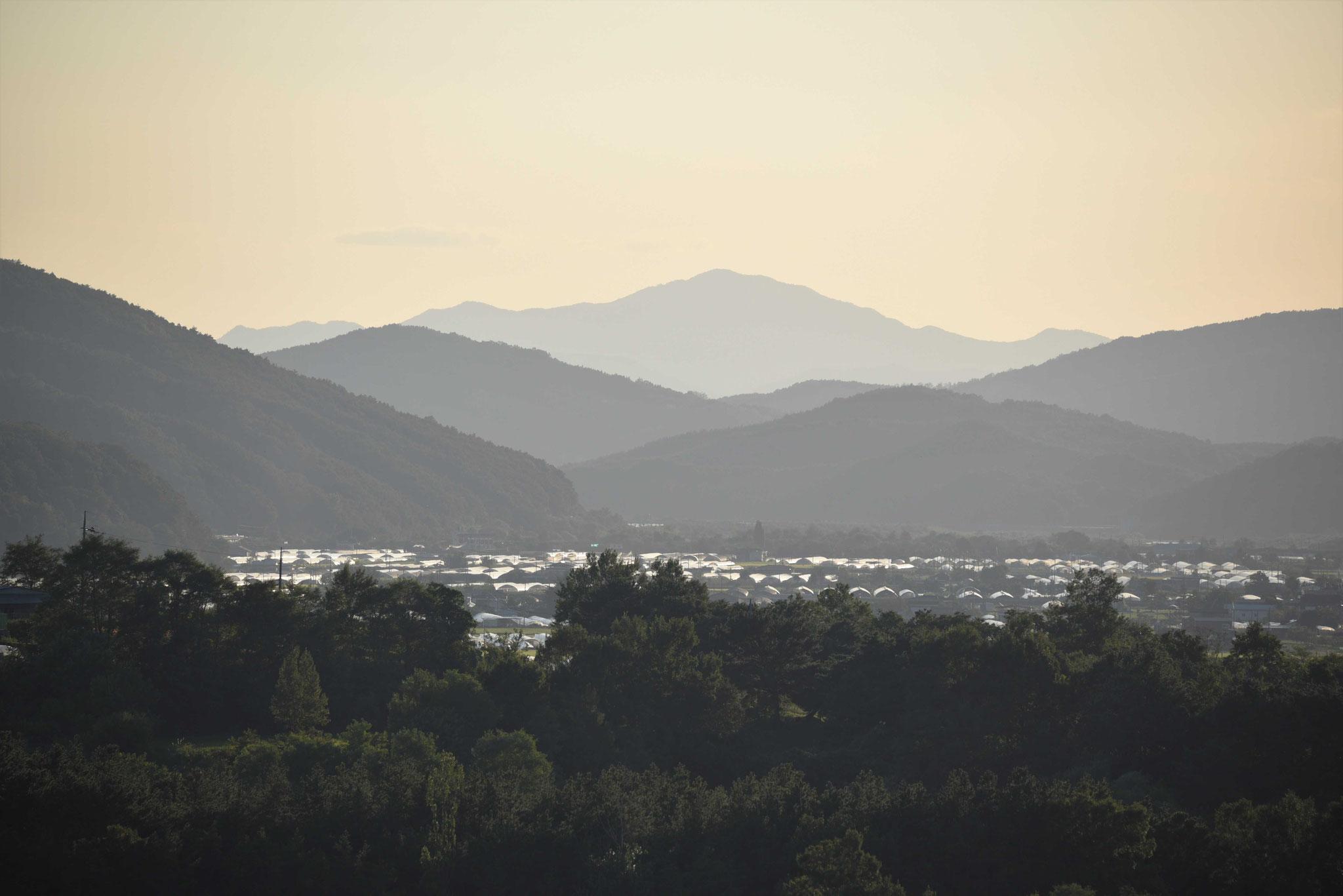 Das Tal im Abendlicht