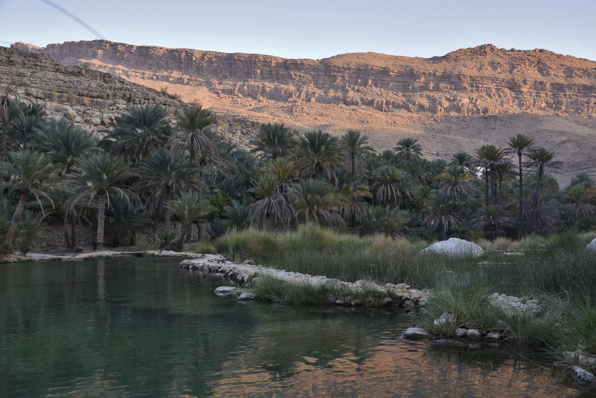 """Pool-Bereich"" des Wadi Bani Khalid II"