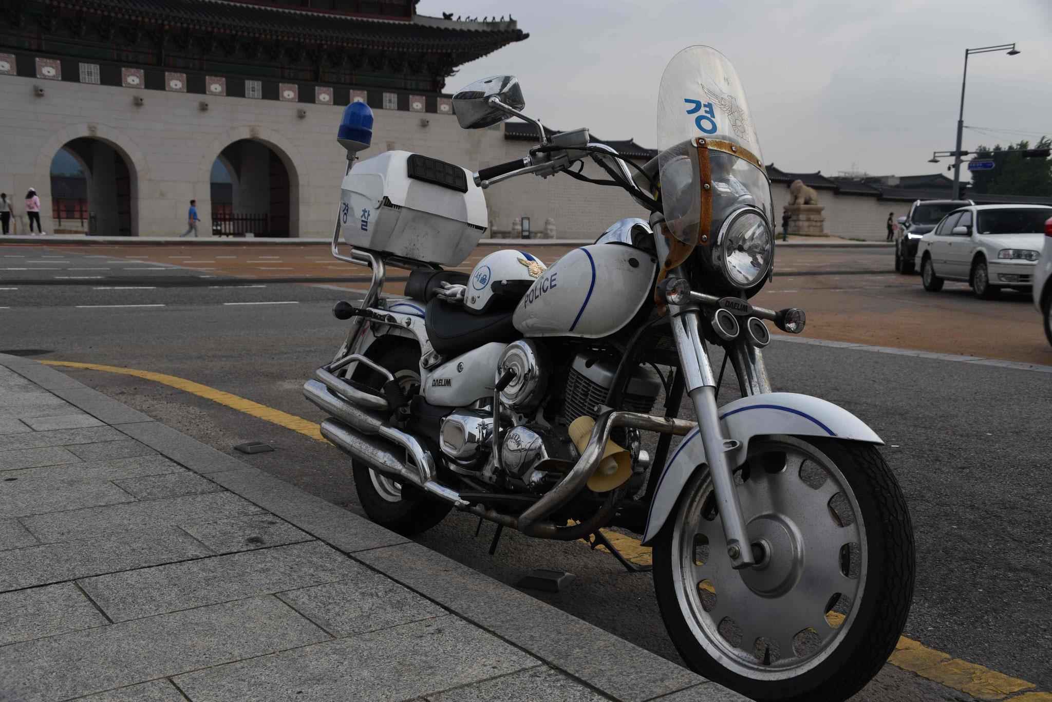 Polizeimotorad