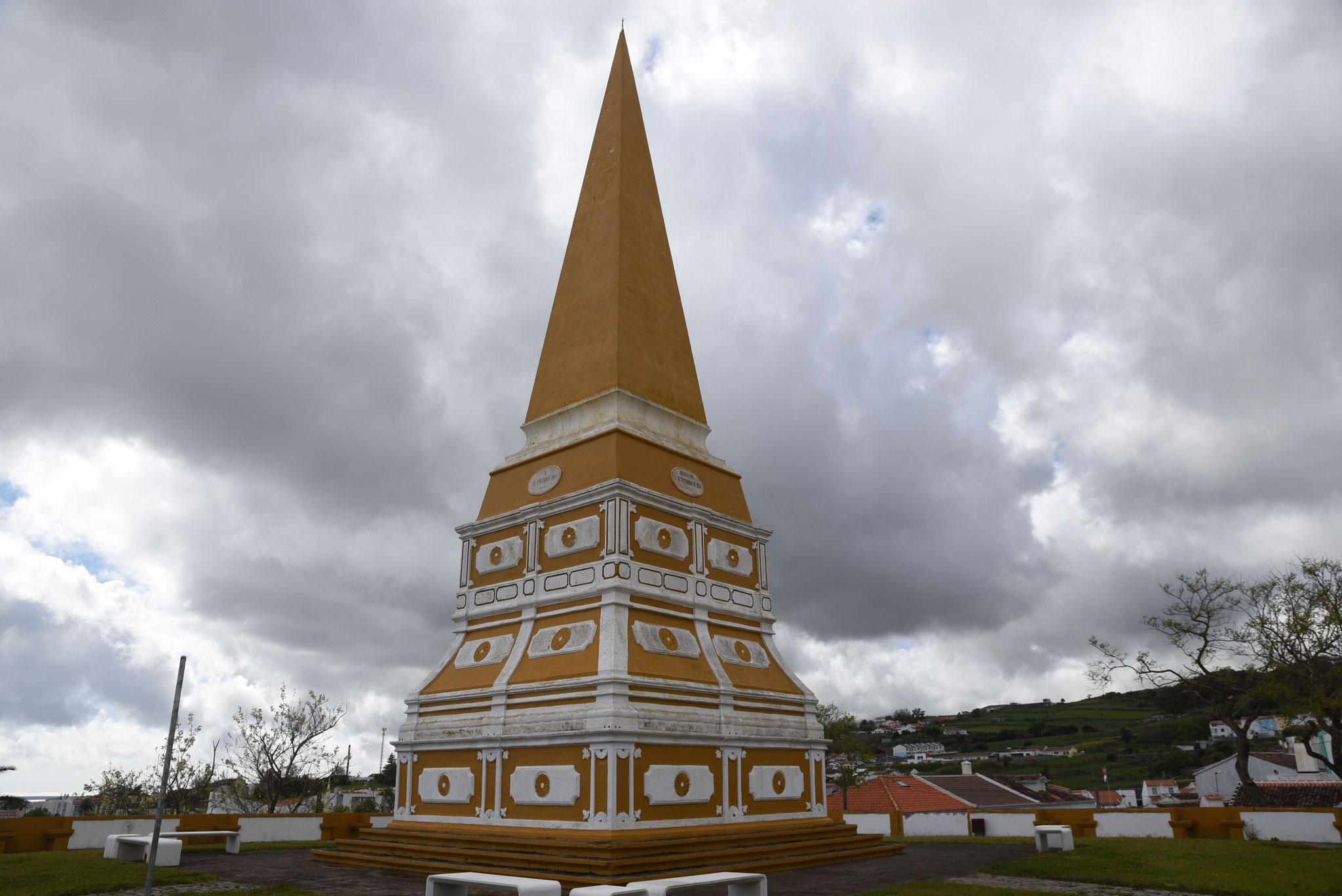 Obelisk Alto da Memoria (an König D. Pedro IV)