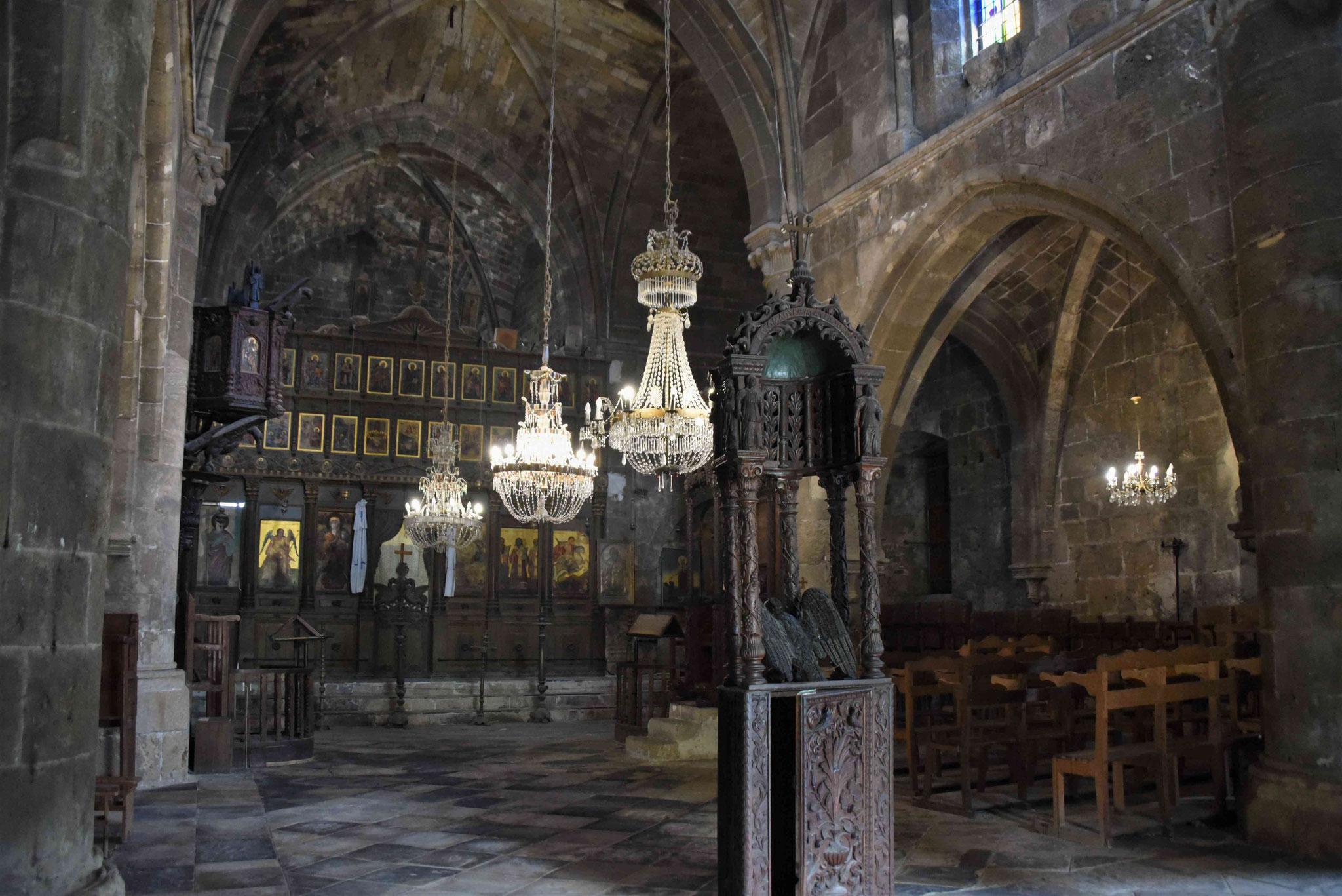 Im Inneren der Klosterkirche I