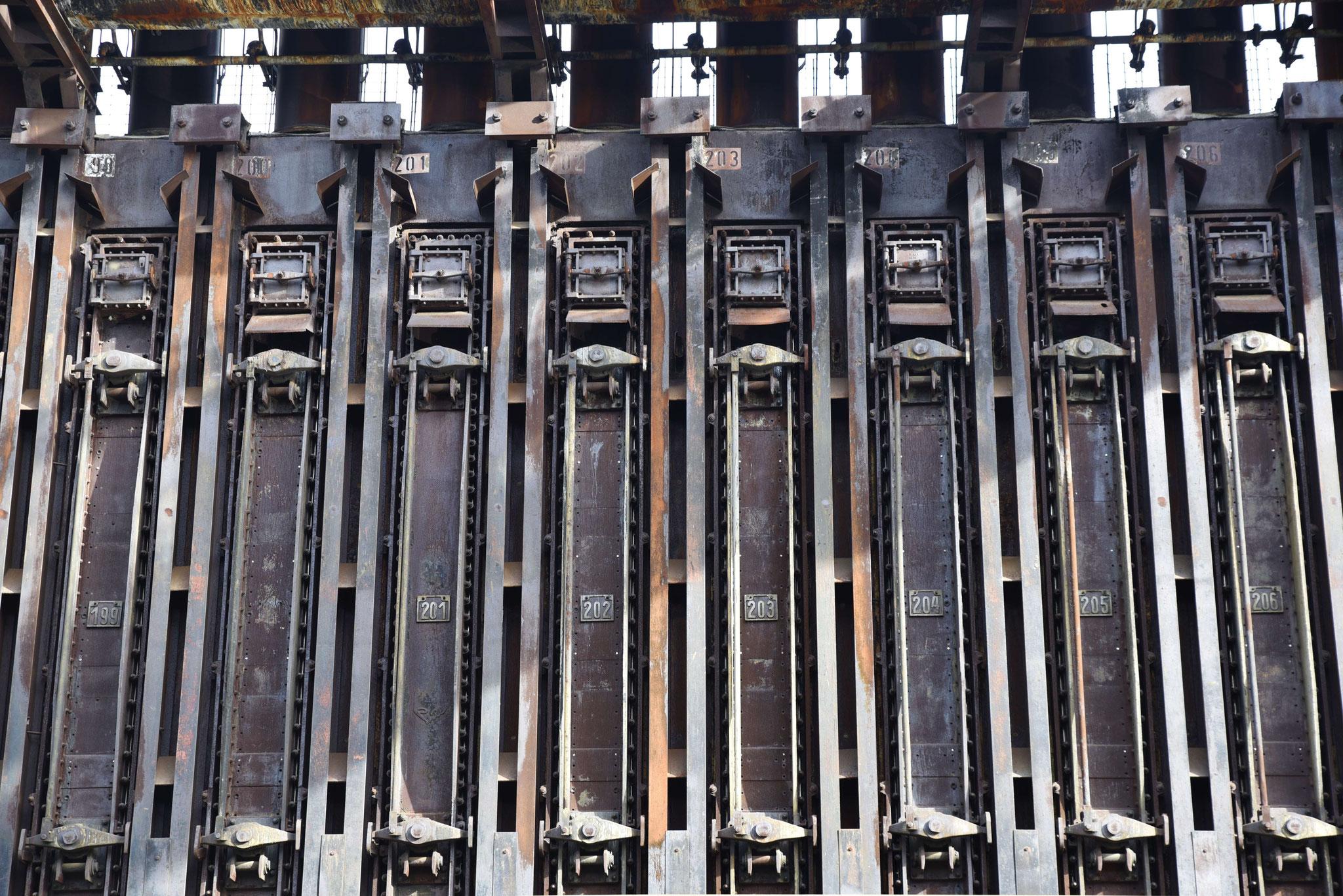 Kammer an Kammer um den Koks zu brennen