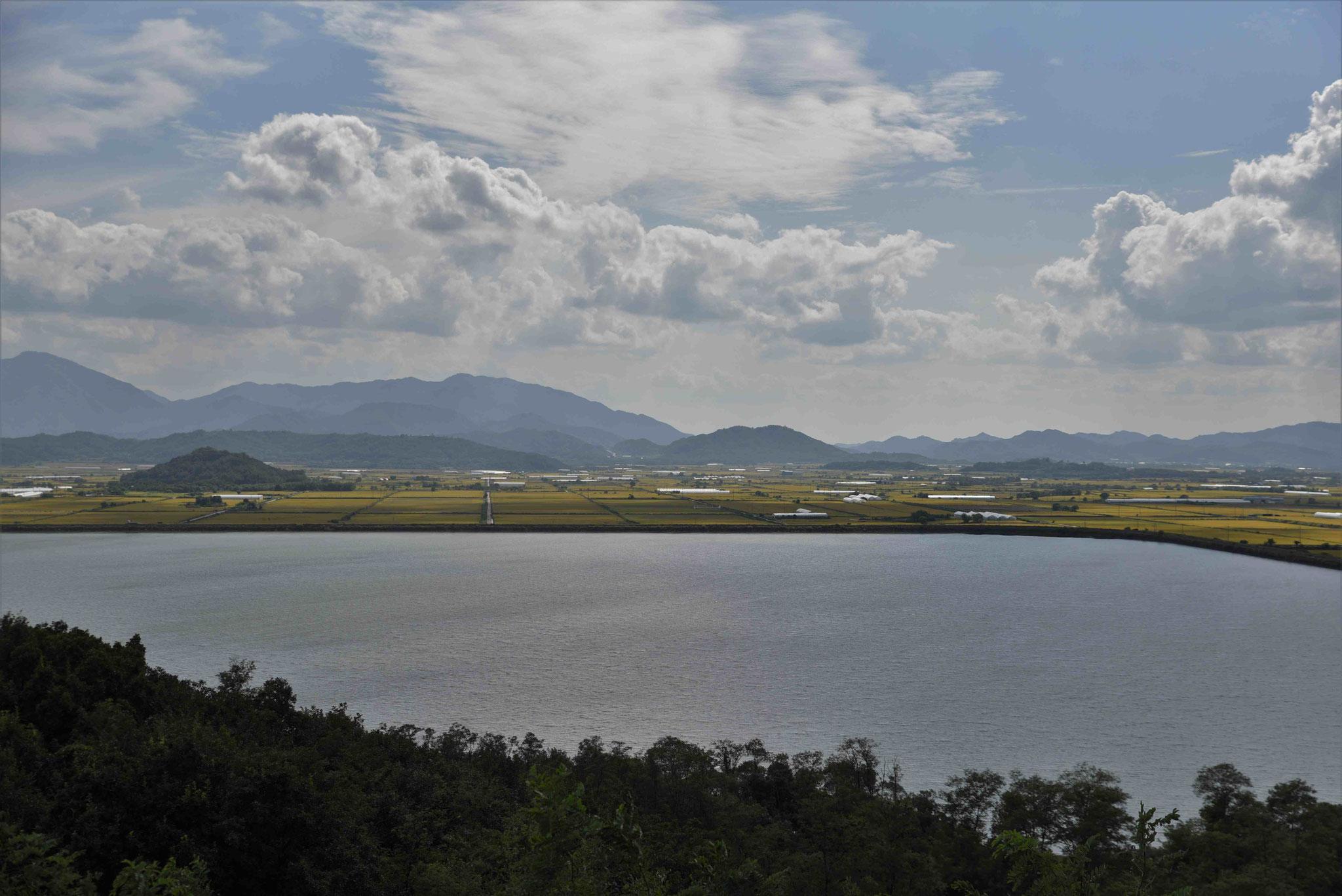 Grenzgebiet zu Nordkorea bei Cheorwon