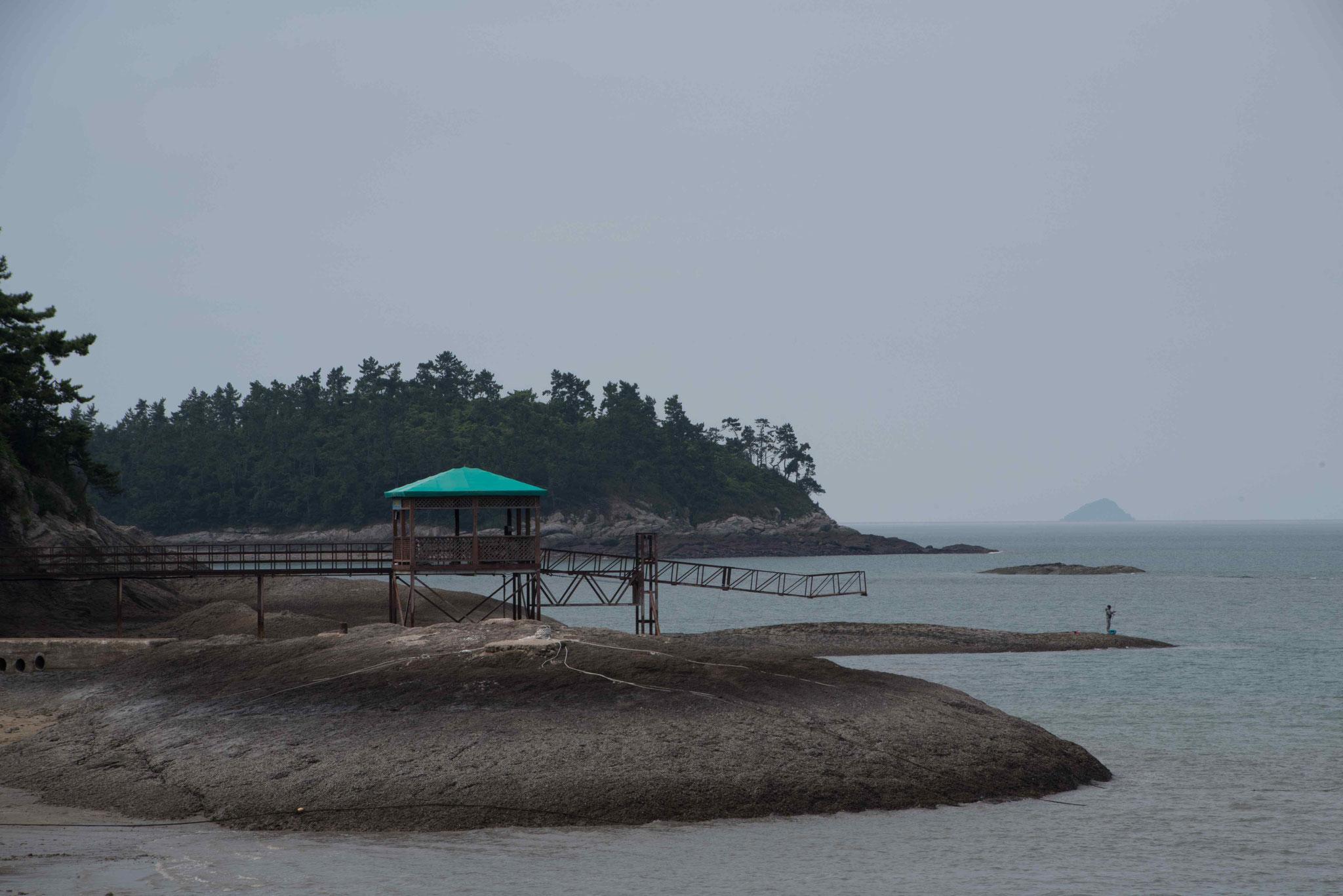 Küstenabschnitt auf Jeungdo