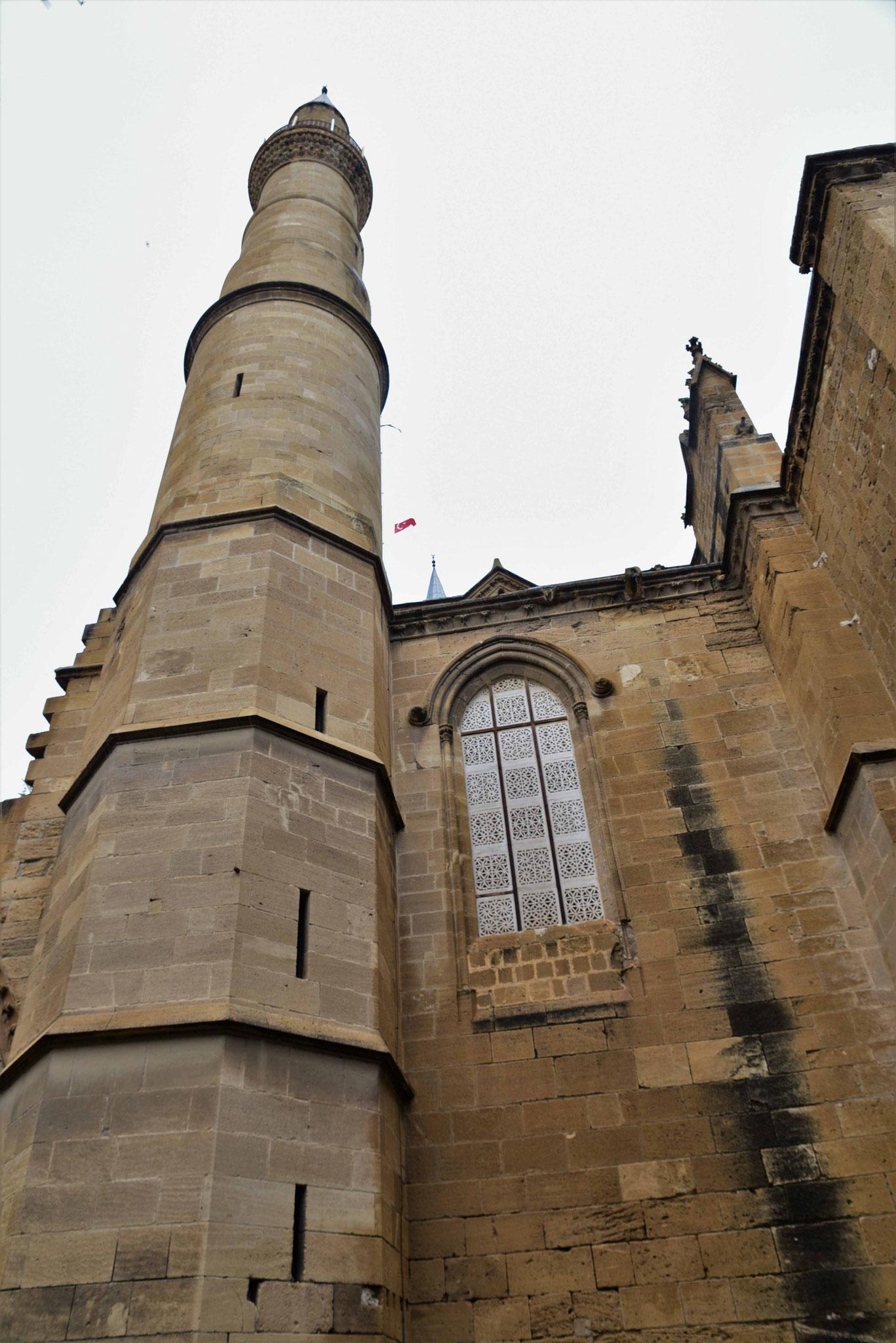 Die Minarette wurden nachträglich an die Sophienkathedrale gebaut