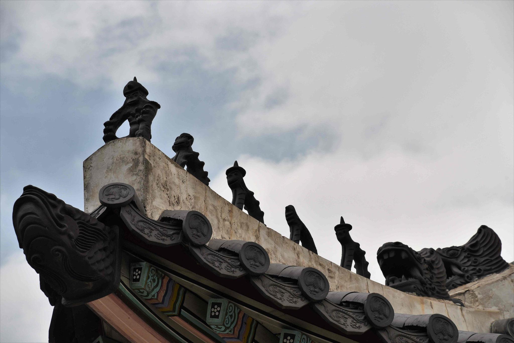 Diverse Dachfiguren