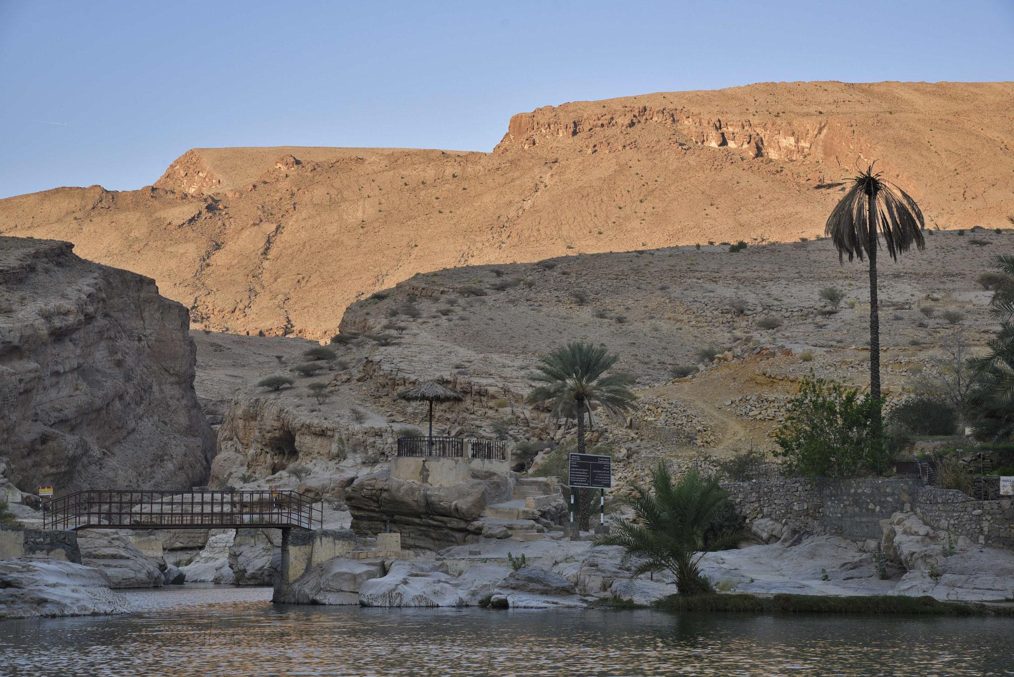 """Pool-Bereich"" des Wadi Bani Khalid I"