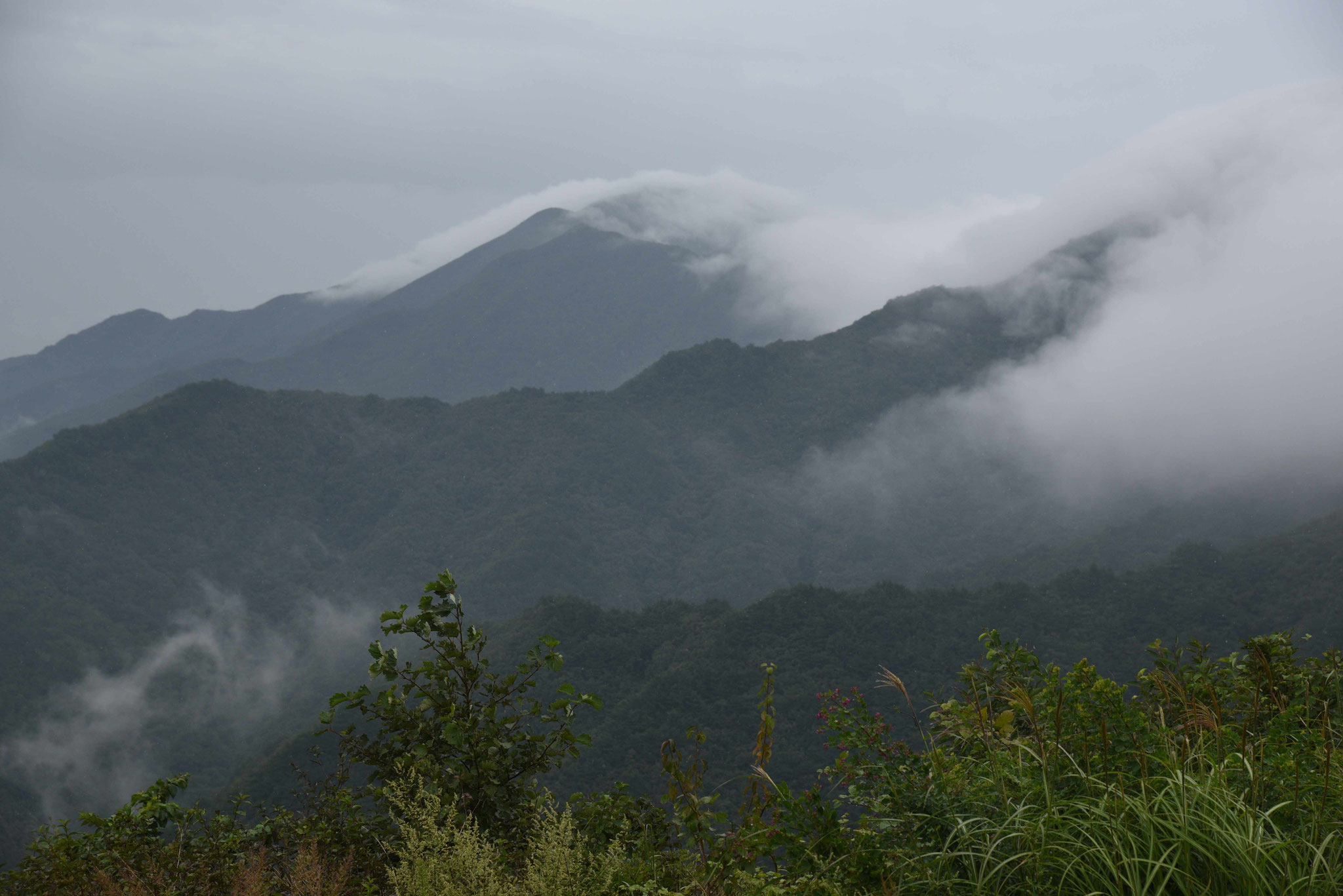 Reiz der Wolkenschwaden