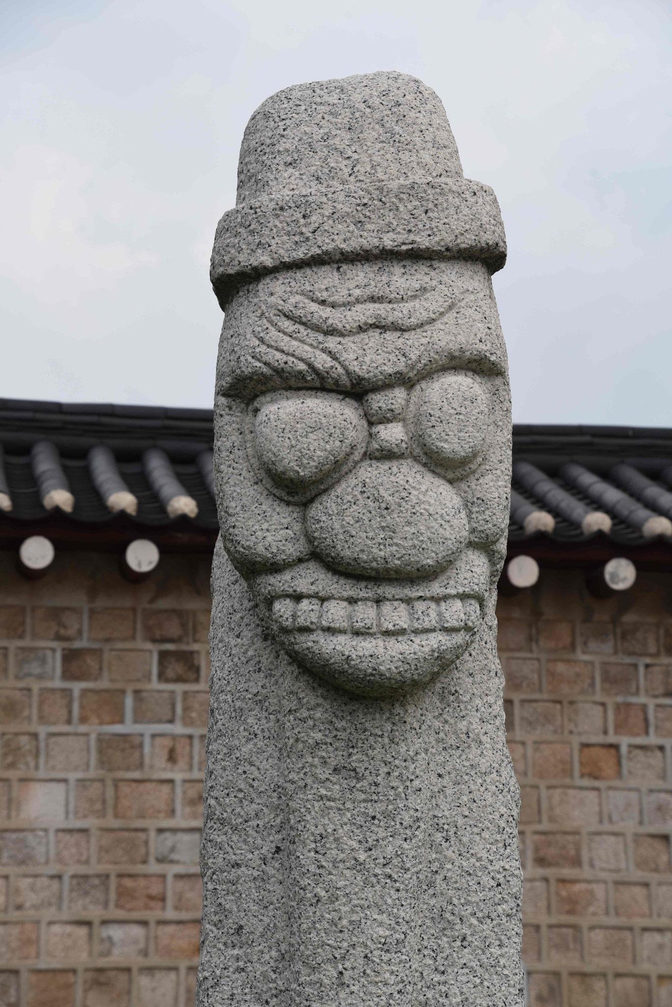 Dolharubang von der Insel Jejo