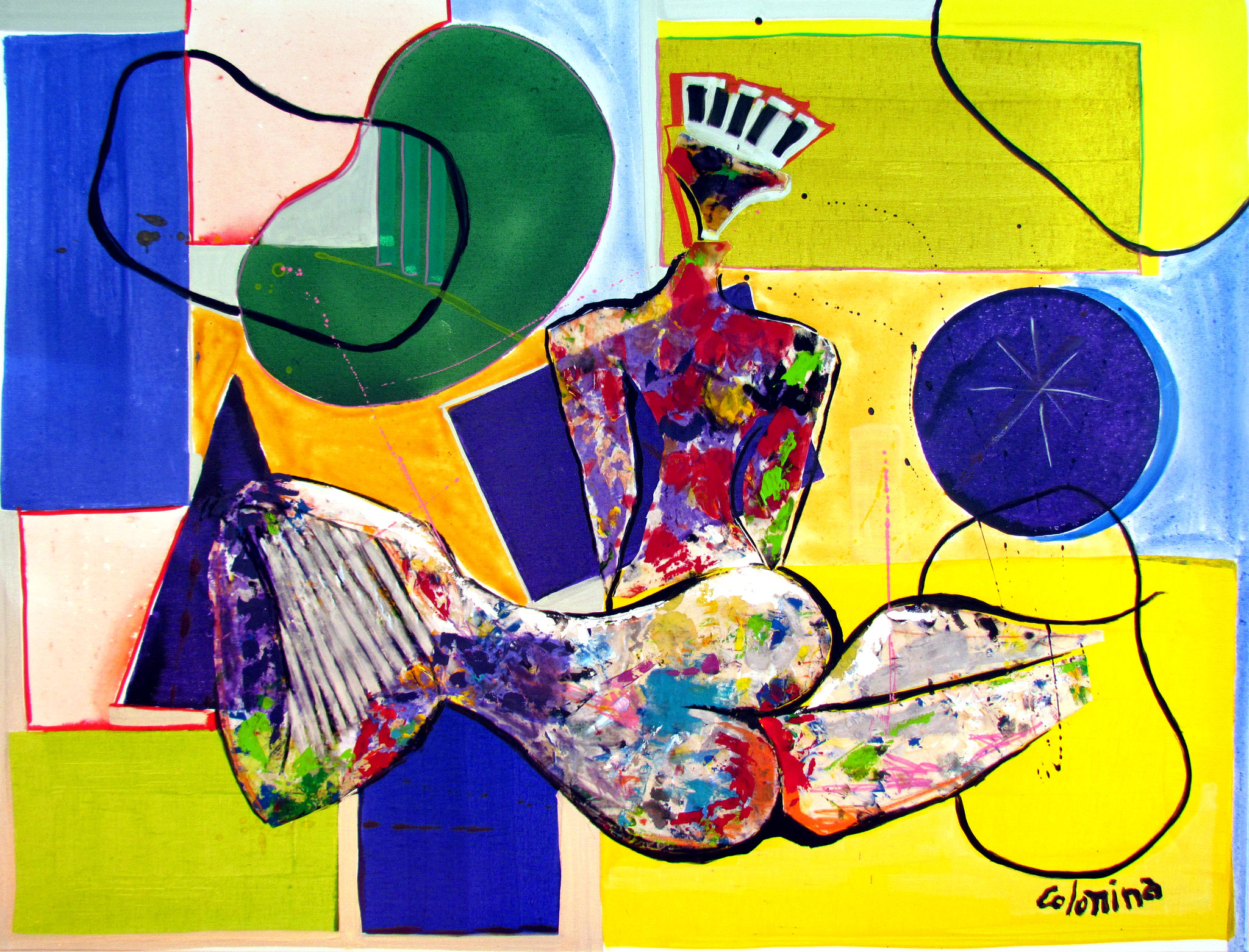 ADMIRATION - Dimensions 116 x 89 cm