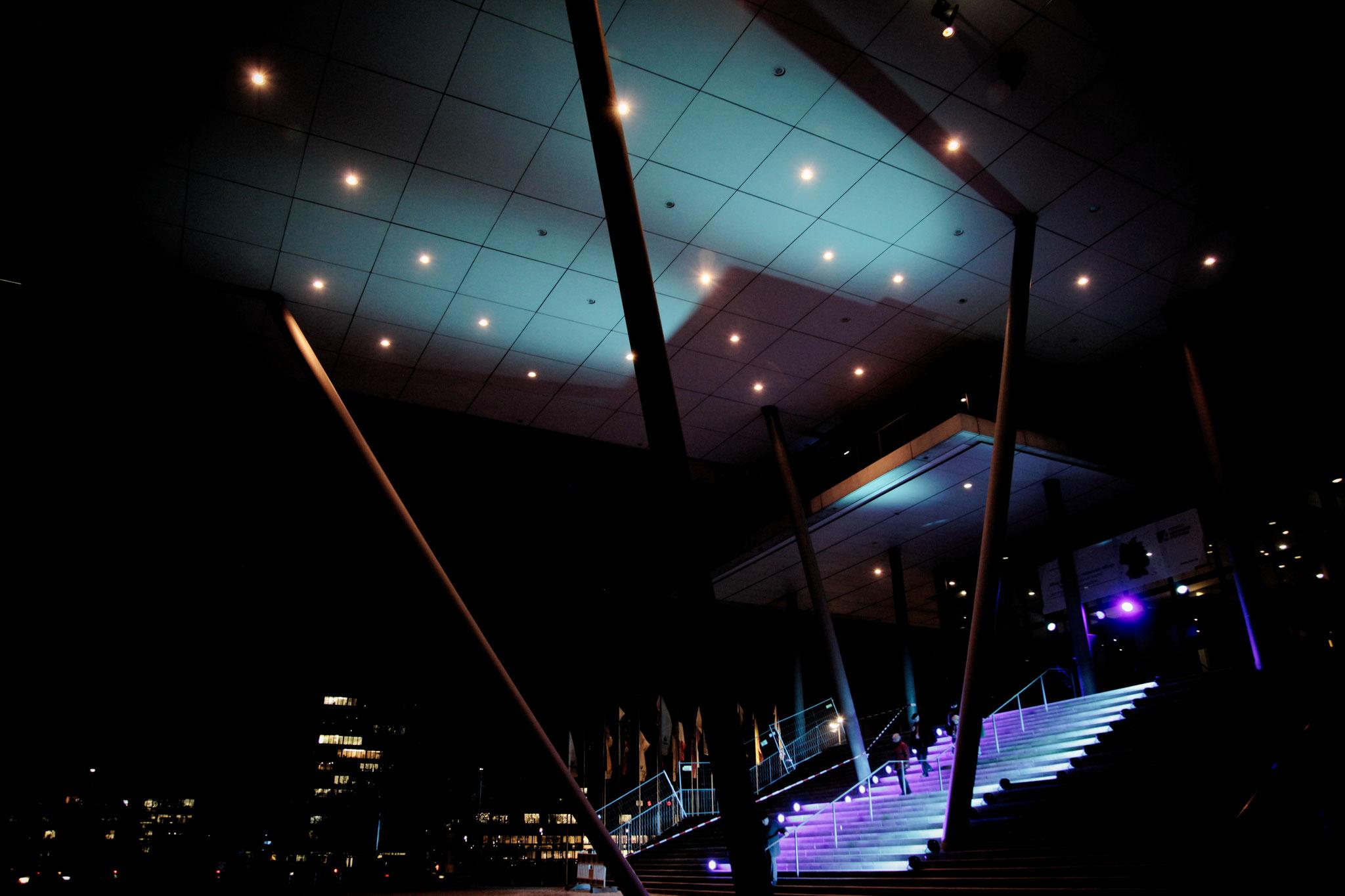 Außengestaltung des Veranstaltungsortes