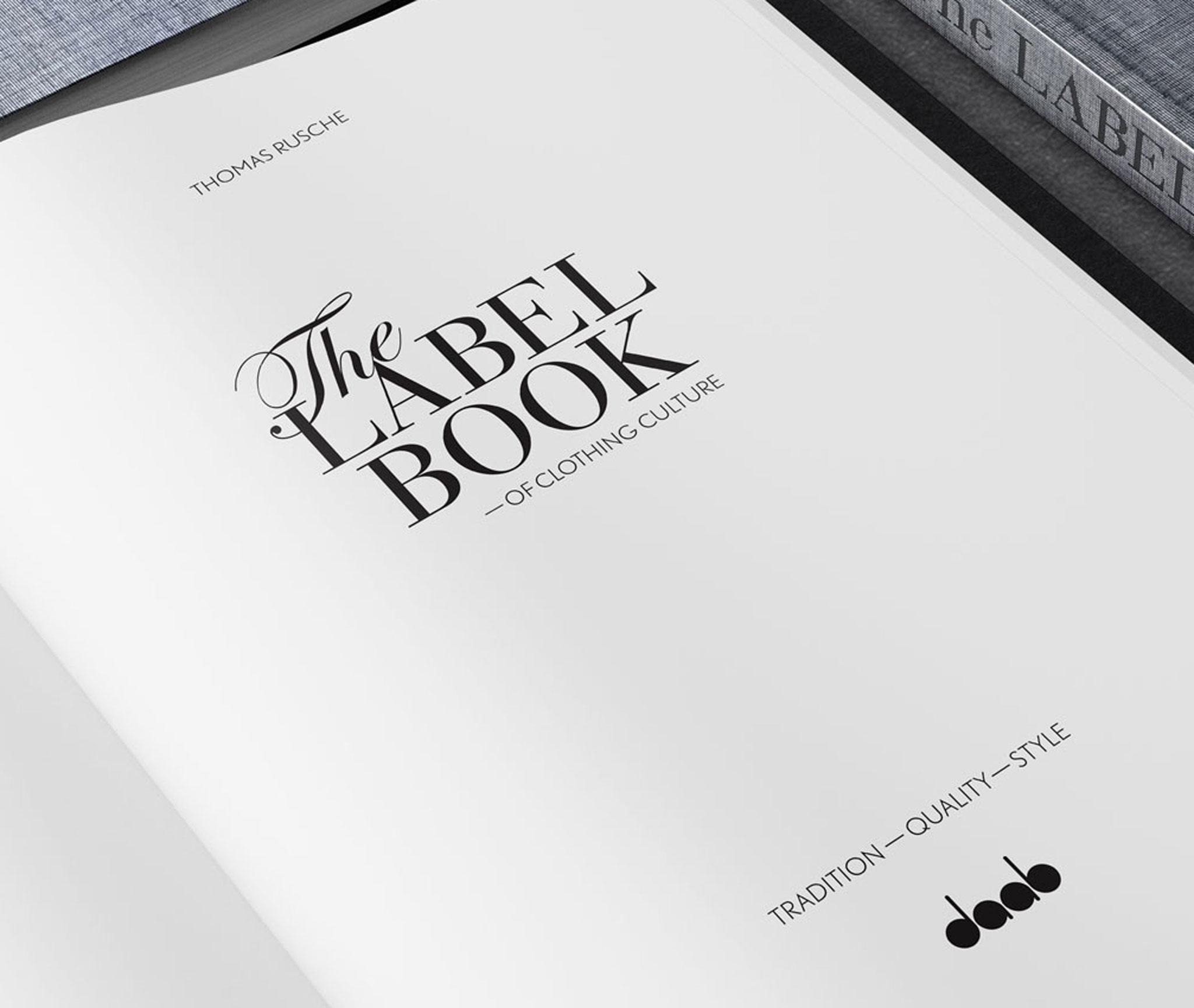 The Label Book of Clothing Culture, DAAB Verlag, Schmutztitel