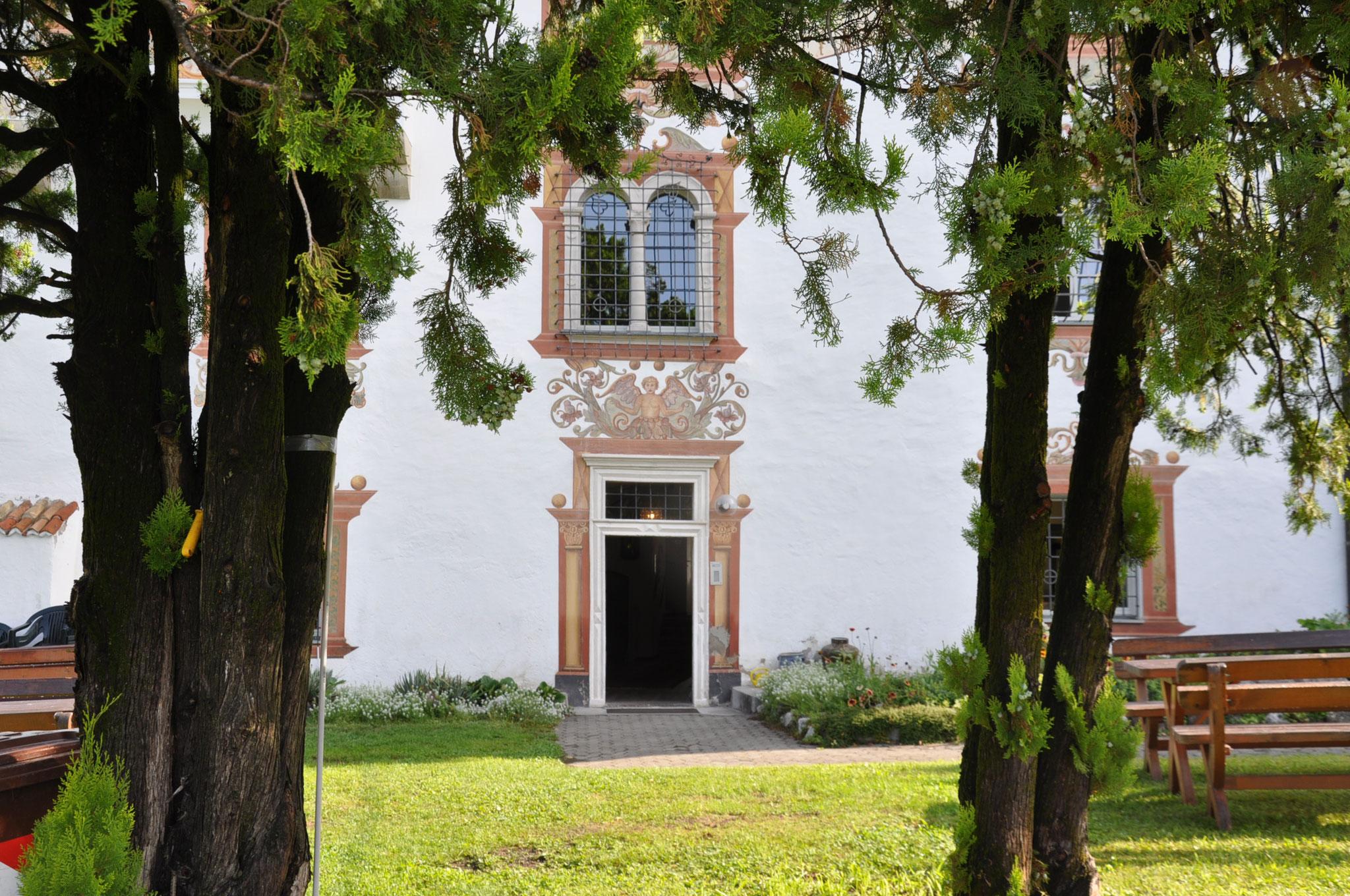 Das Gästehaus Casa Pallotti in Meran